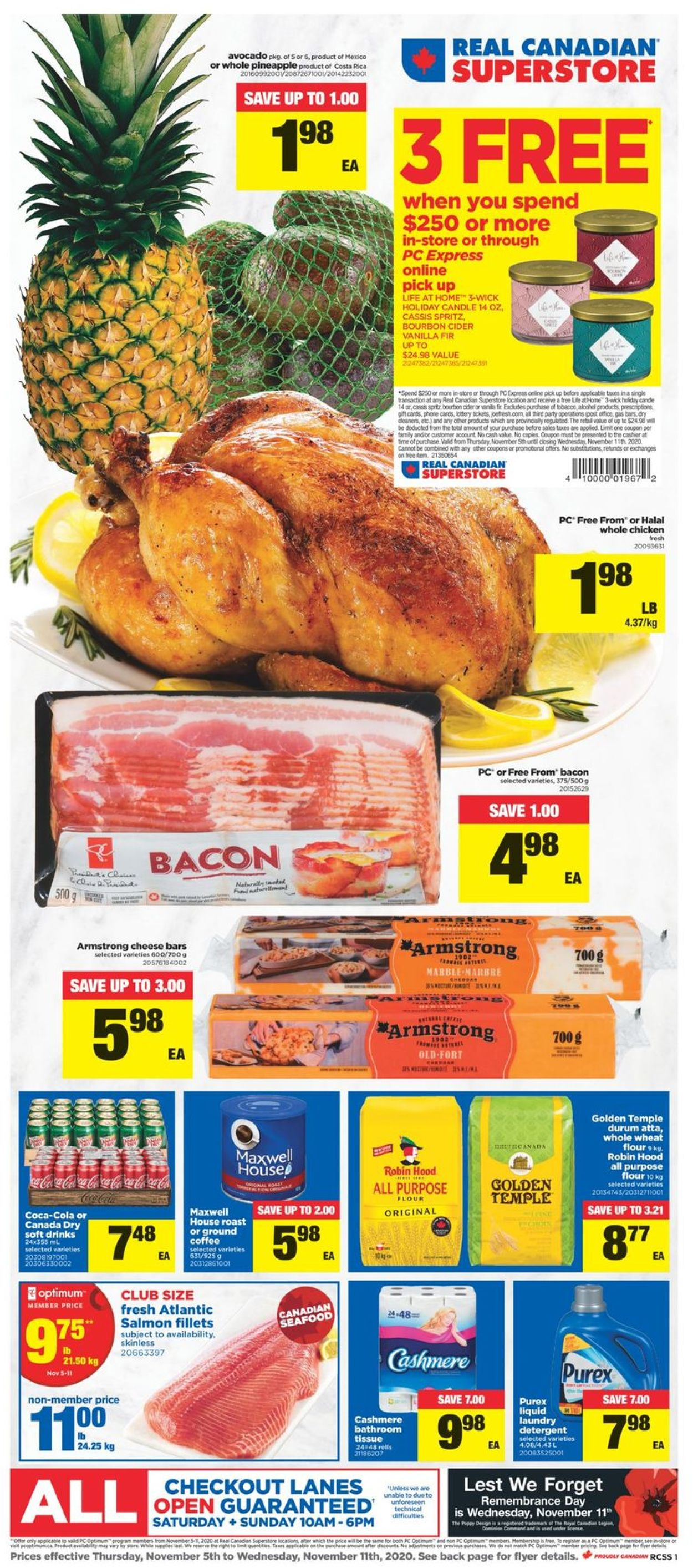 Real Canadian Superstore Flyer - 11/05-11/11/2020