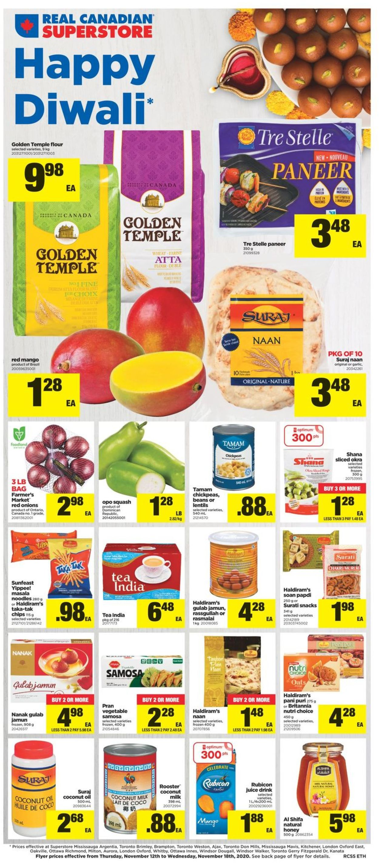 Real Canadian Superstore Flyer - 11/12-11/18/2020