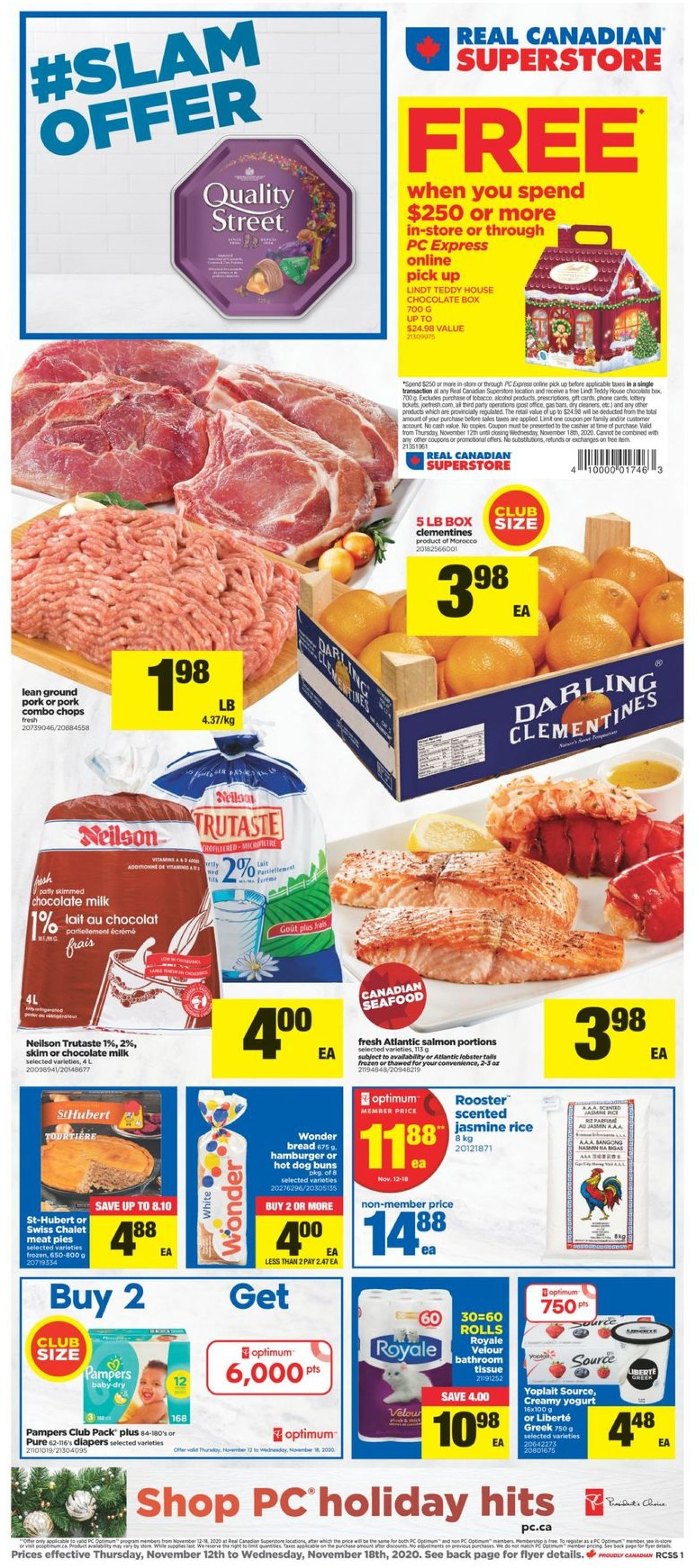 Real Canadian Superstore - Holiday 2020 Flyer - 11/12-11/18/2020