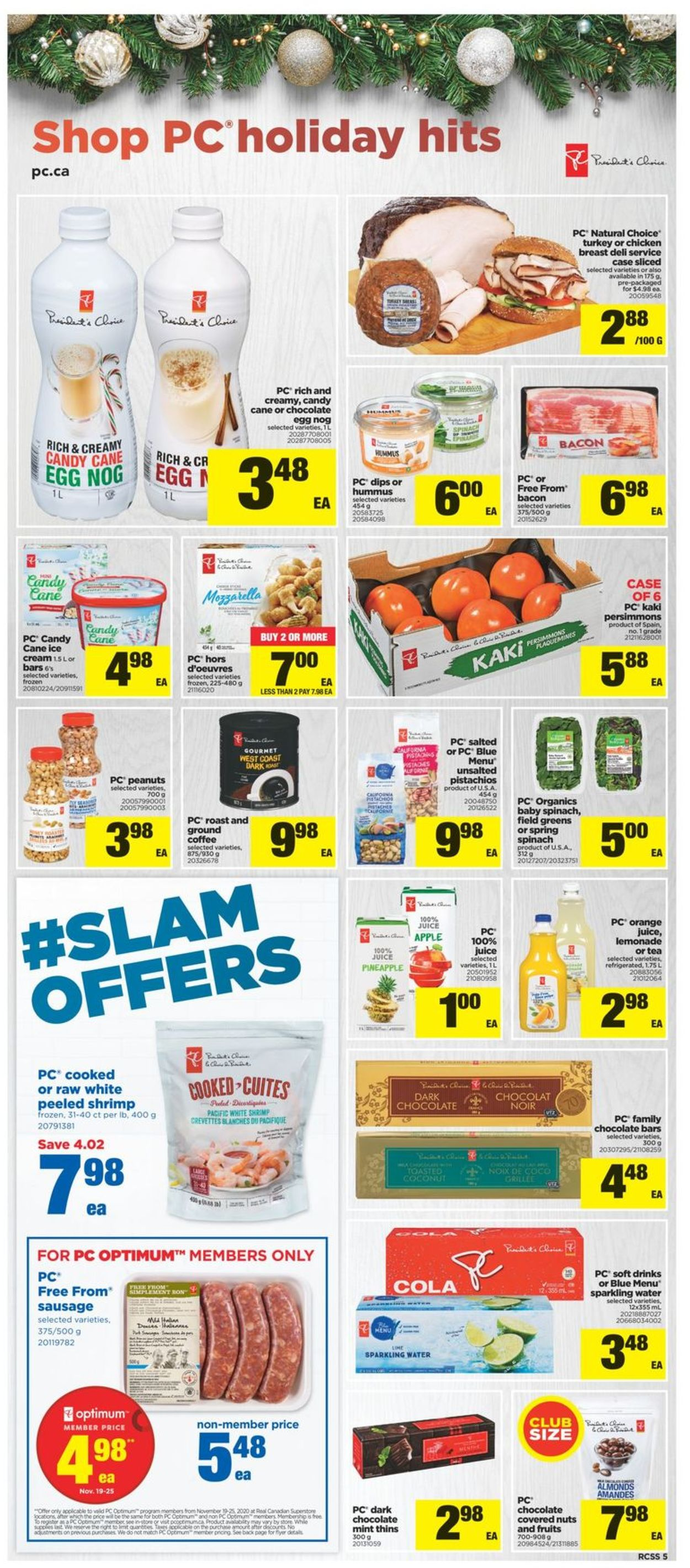 Real Canadian Superstore Flyer - 11/19-11/25/2020 (Page 5)