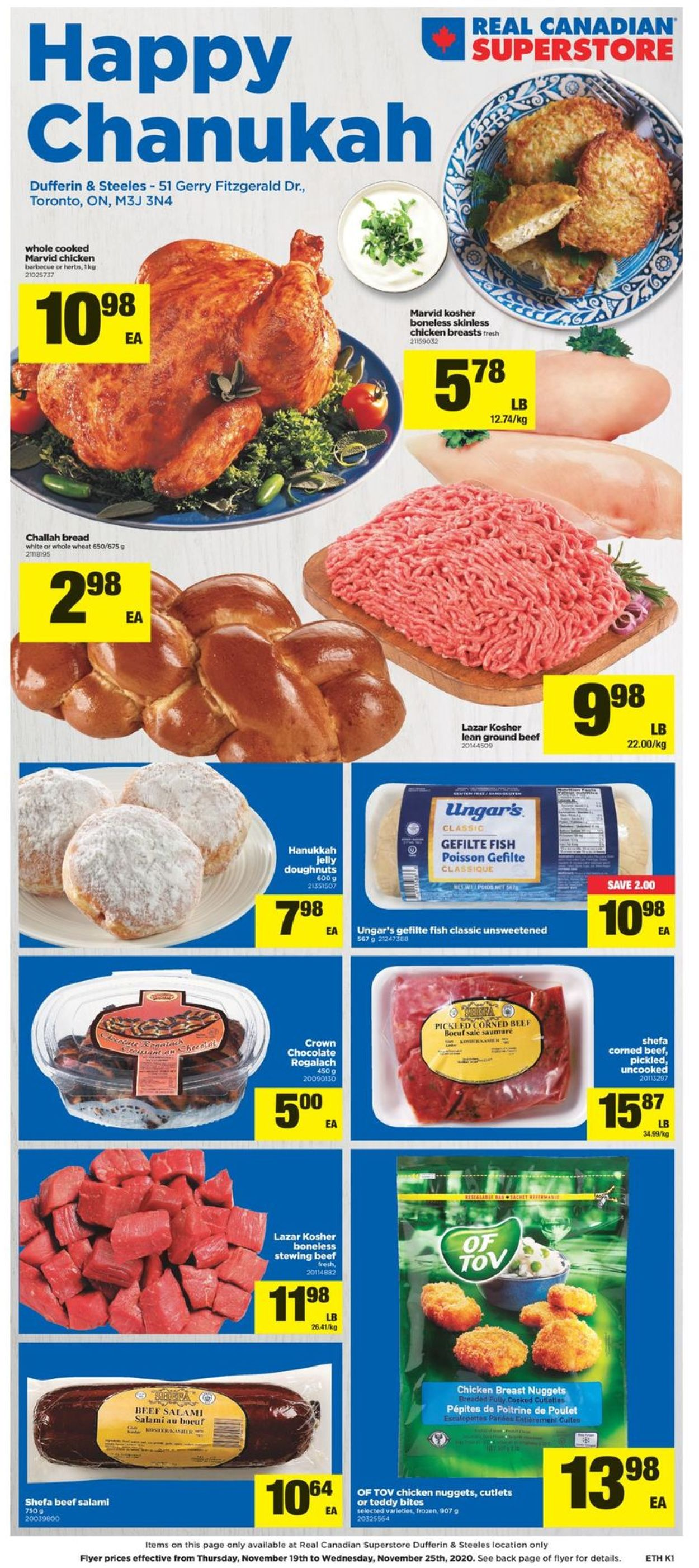 Real Canadian Superstore Flyer - 11/19-11/25/2020