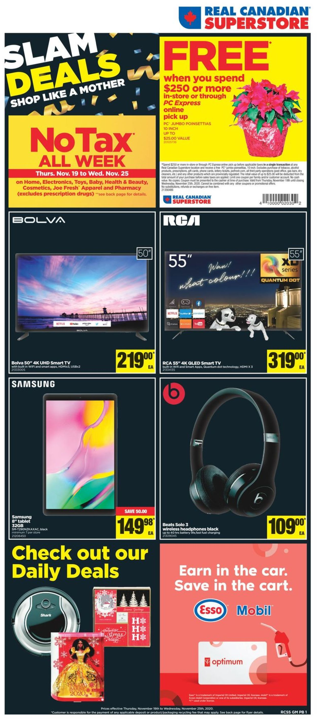 Real Canadian Superstore Black Friday ad 2020 Flyer - 11/19-11/25/2020