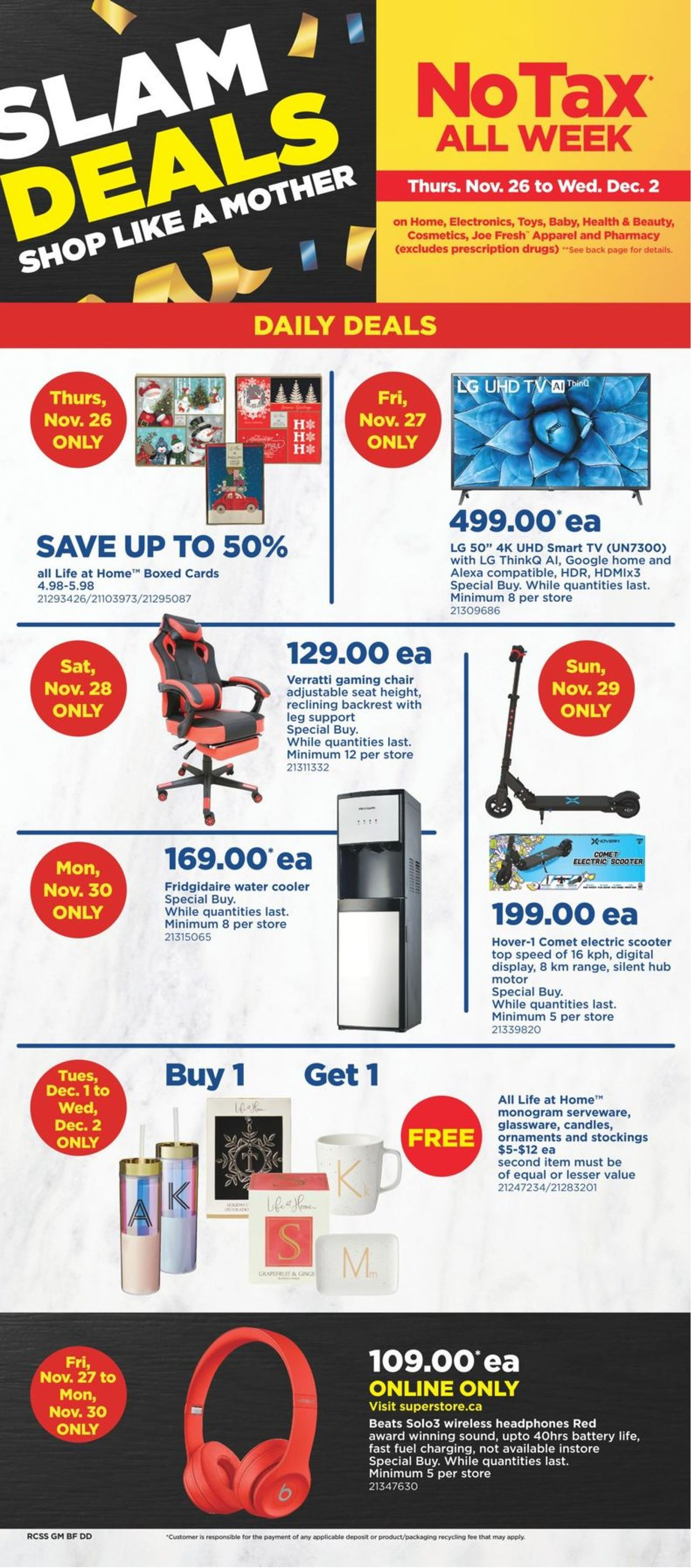 Real Canadian Superstore - Black Friday 2020 Flyer - 11/26-12/02/2020 (Page 2)