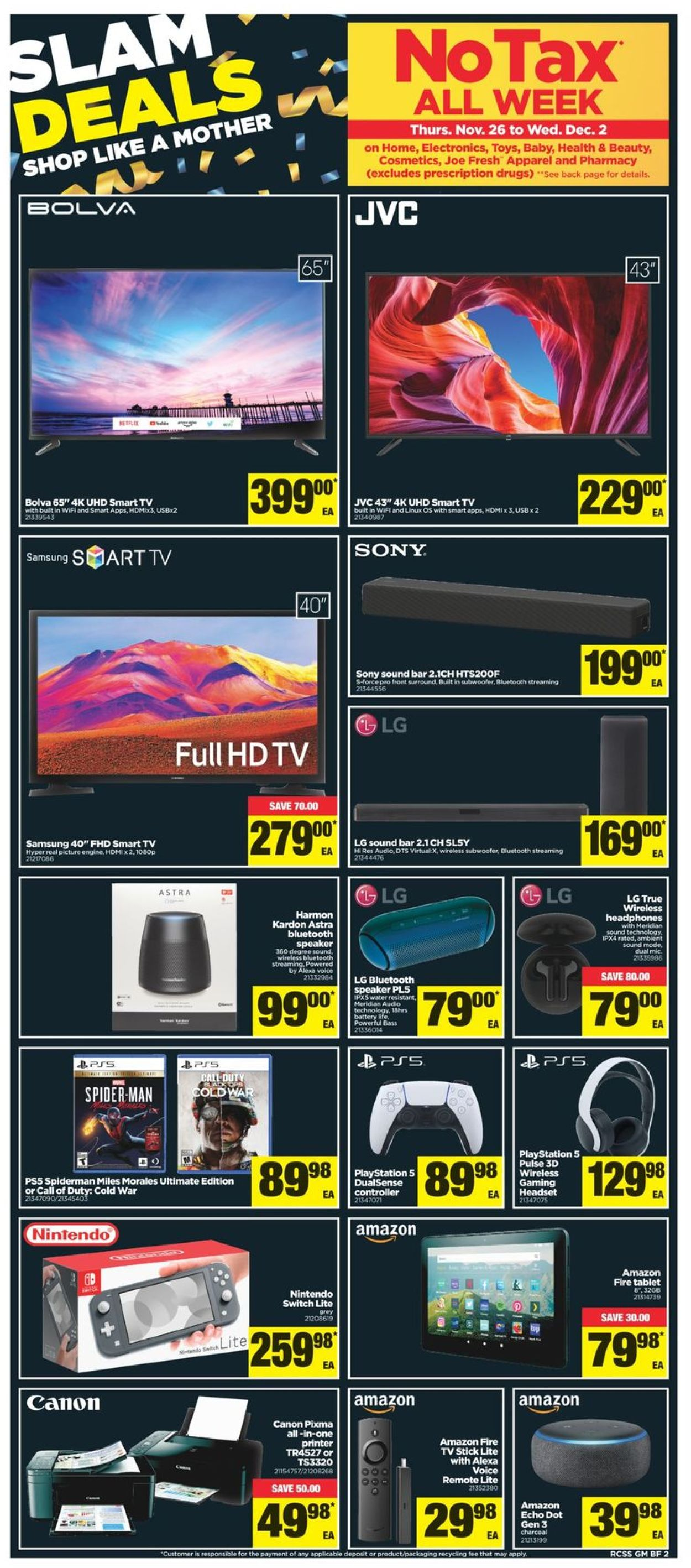 Real Canadian Superstore - Black Friday 2020 Flyer - 11/26-12/02/2020 (Page 3)