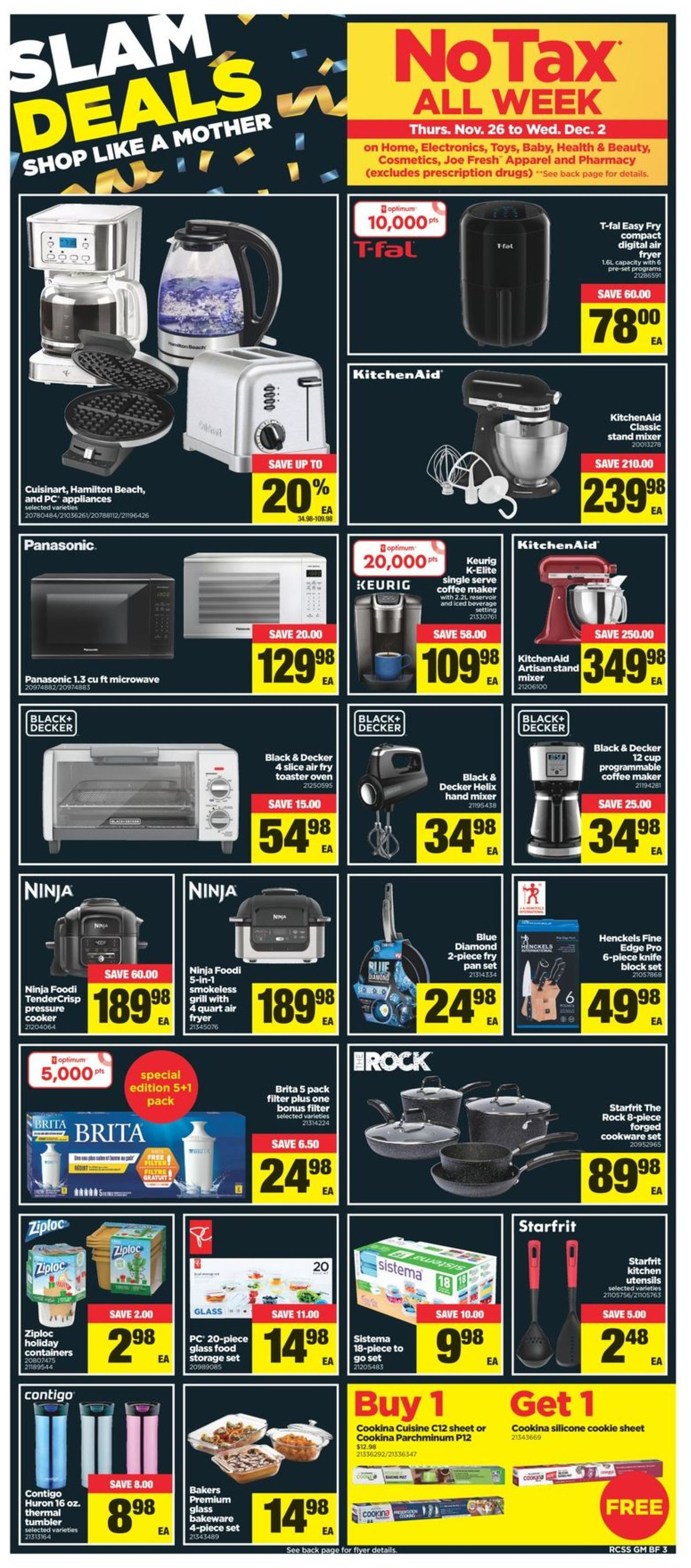 Real Canadian Superstore - Black Friday 2020 Flyer - 11/26-12/02/2020 (Page 4)