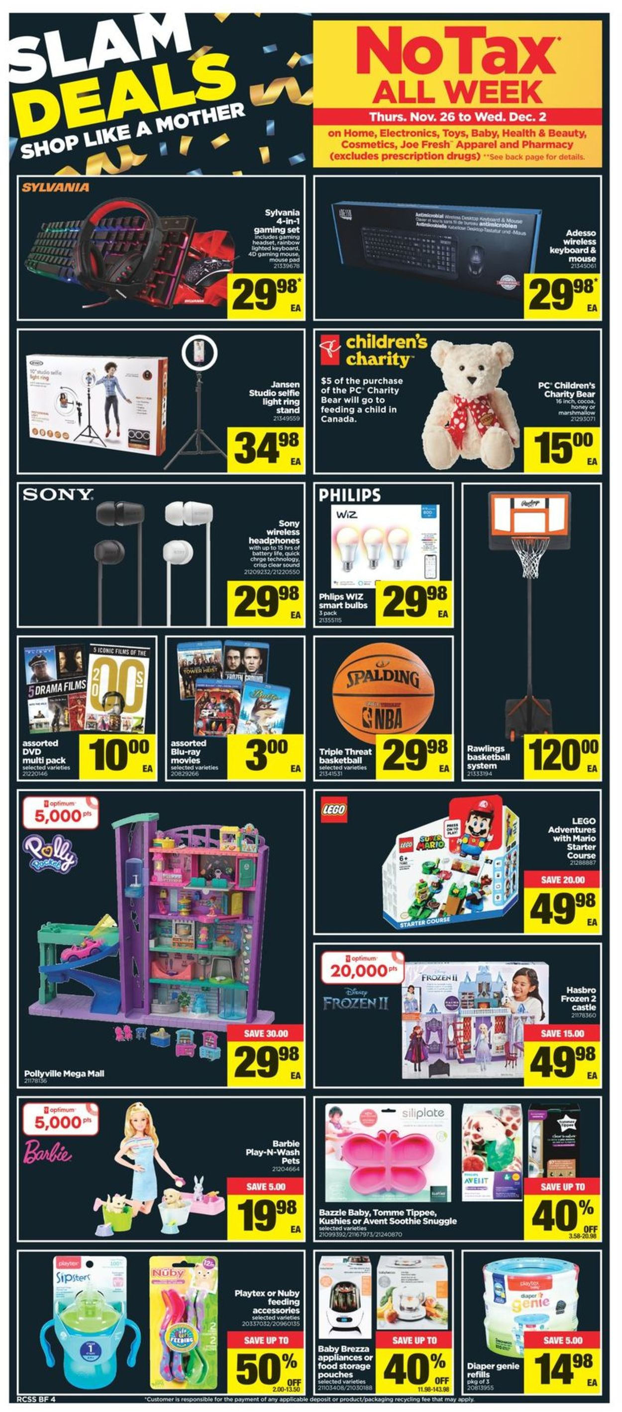 Real Canadian Superstore - Black Friday 2020 Flyer - 11/26-12/02/2020 (Page 5)