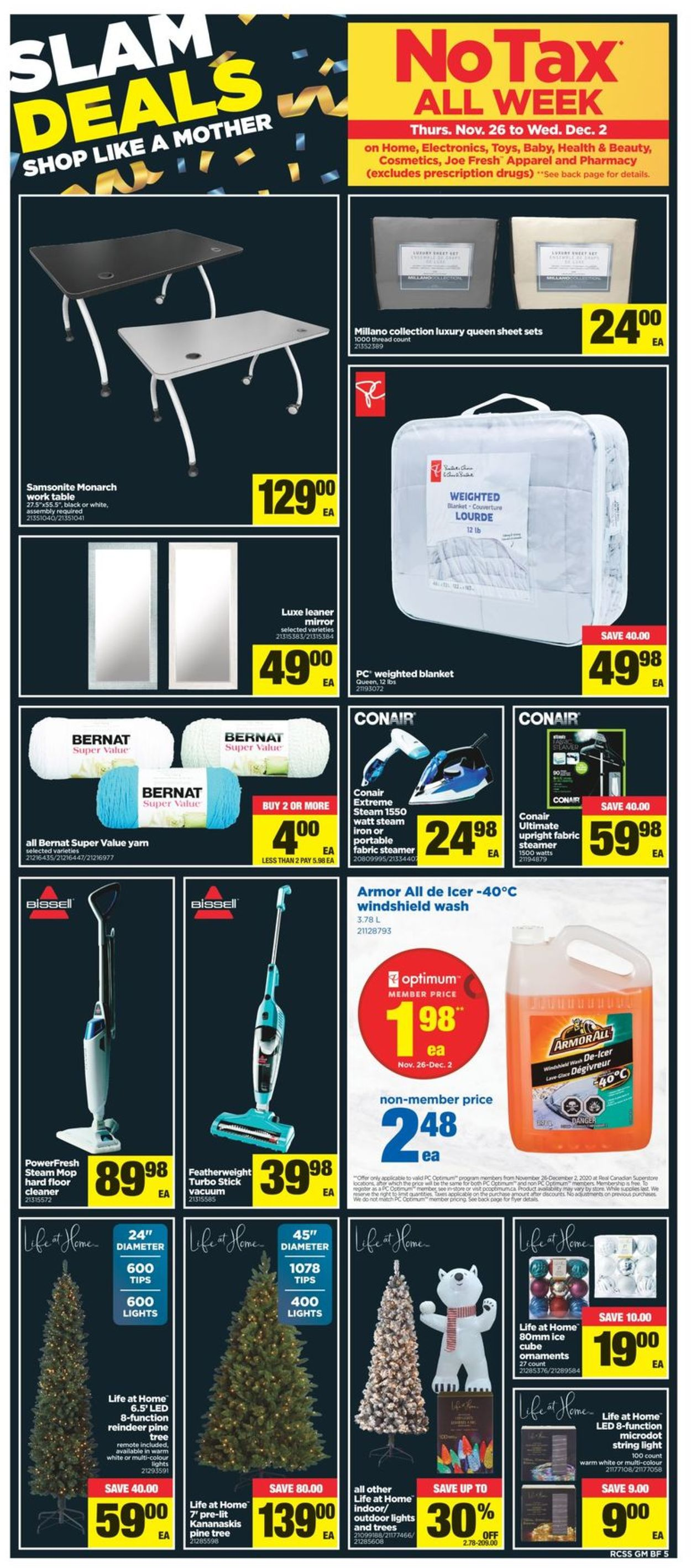 Real Canadian Superstore - Black Friday 2020 Flyer - 11/26-12/02/2020 (Page 6)