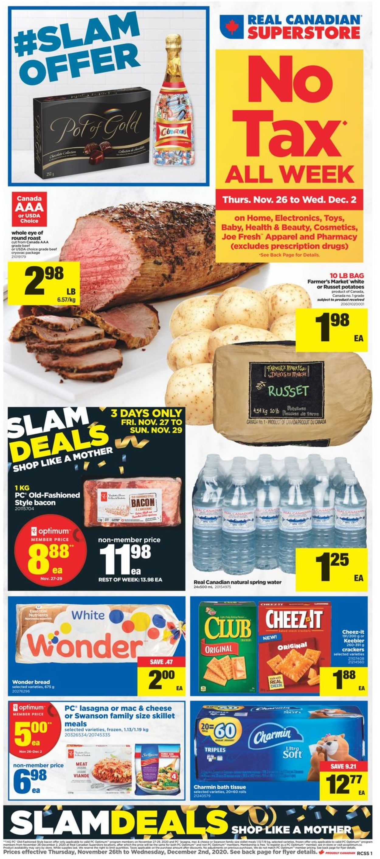 Real Canadian Superstore - Black Friday 2020 Flyer - 11/26-12/02/2020