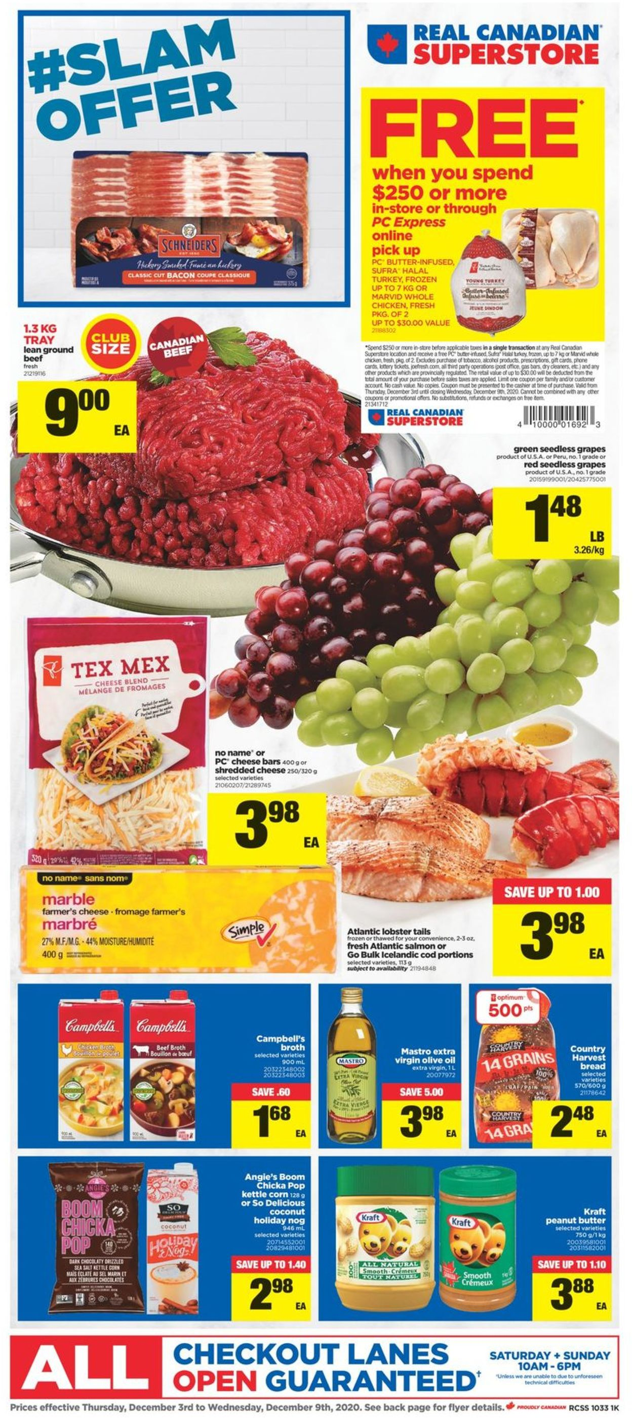 Real Canadian Superstore - Holiday 2020 Flyer - 12/03-12/09/2020
