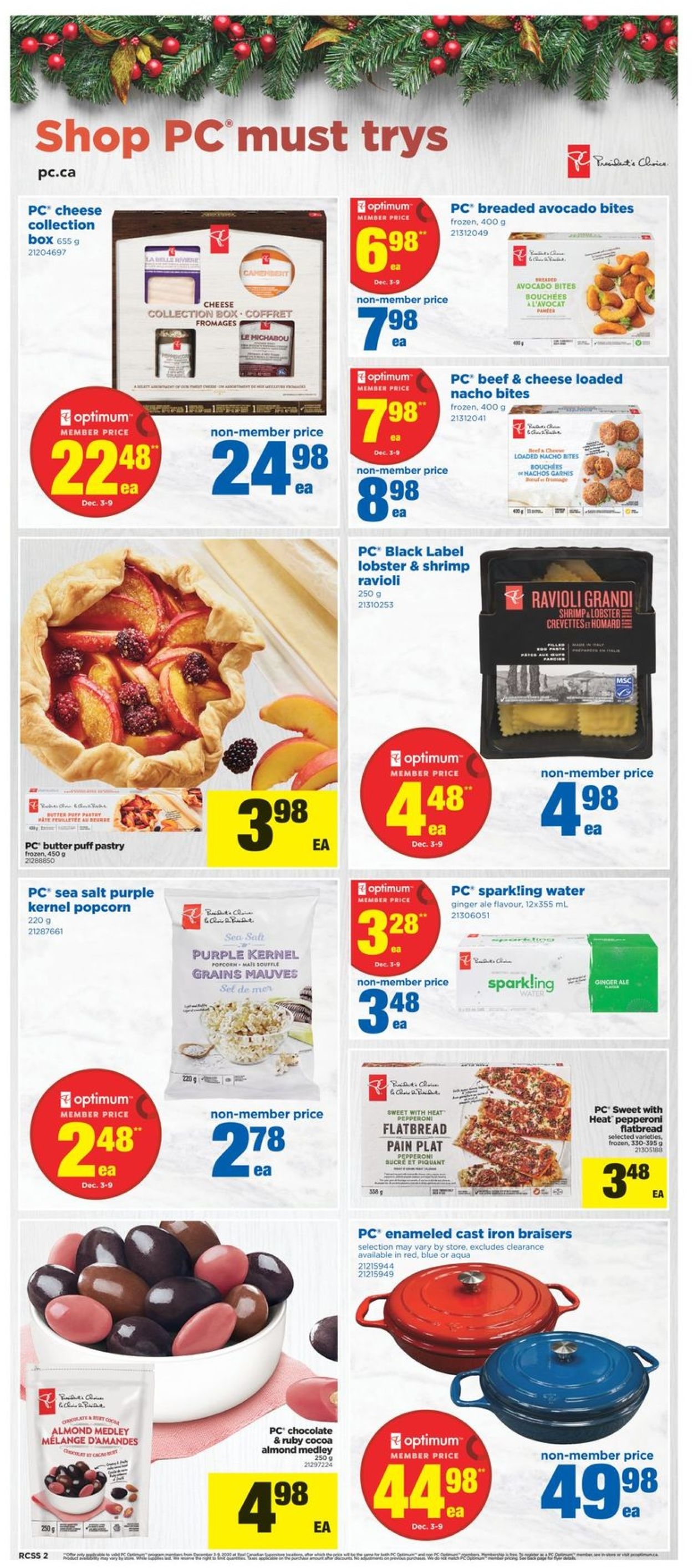 Real Canadian Superstore - Holiday 2020 Flyer - 12/03-12/09/2020 (Page 2)