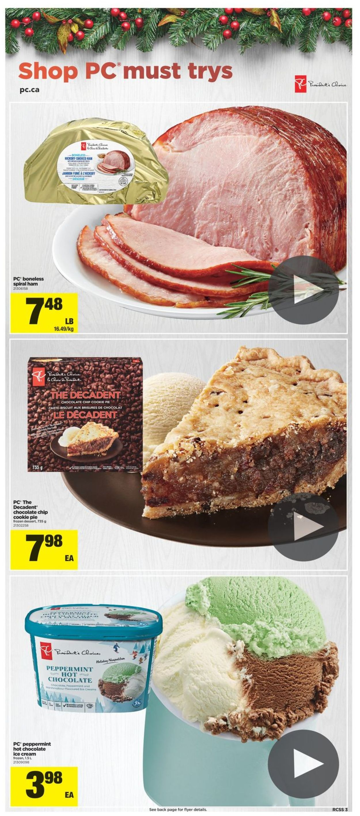 Real Canadian Superstore - Holiday 2020 Flyer - 12/03-12/09/2020 (Page 3)