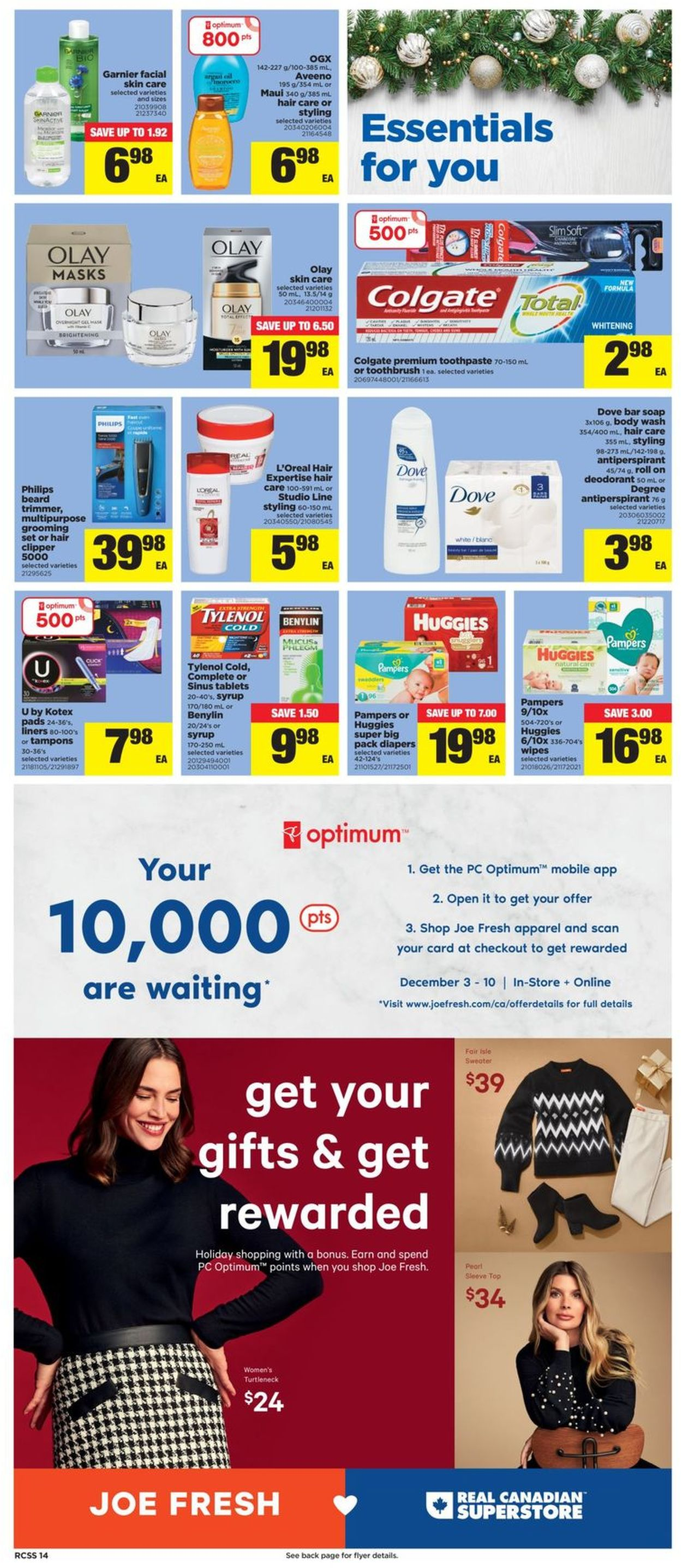 Real Canadian Superstore - Holiday 2020 Flyer - 12/03-12/09/2020 (Page 13)