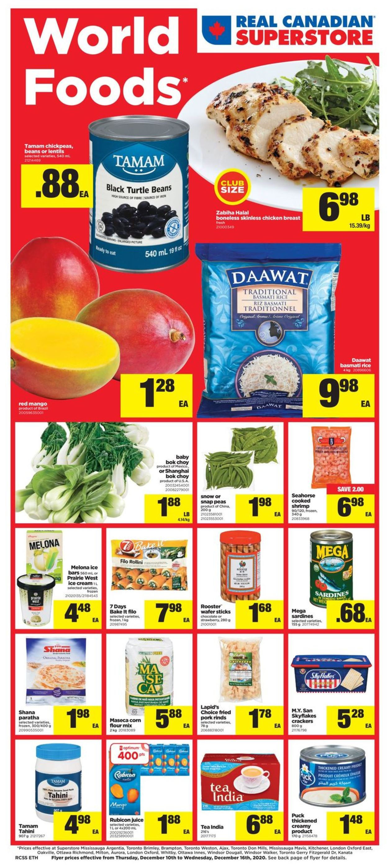 Real Canadian Superstore - Holiday 2020 Flyer - 12/10-12/16/2020