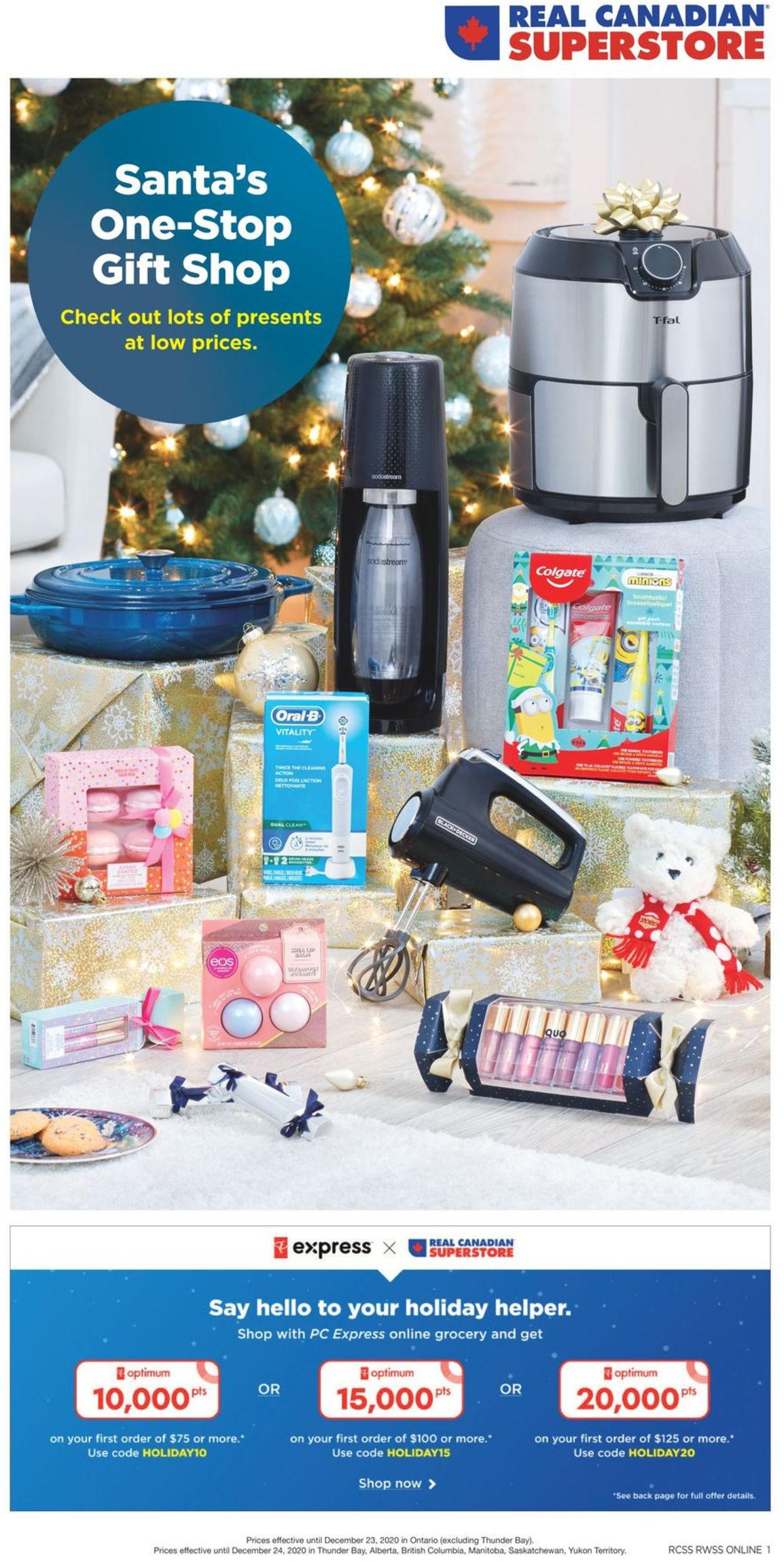 Real Canadian Superstore - Holiday 2020 Flyer - 12/10-12/23/2020