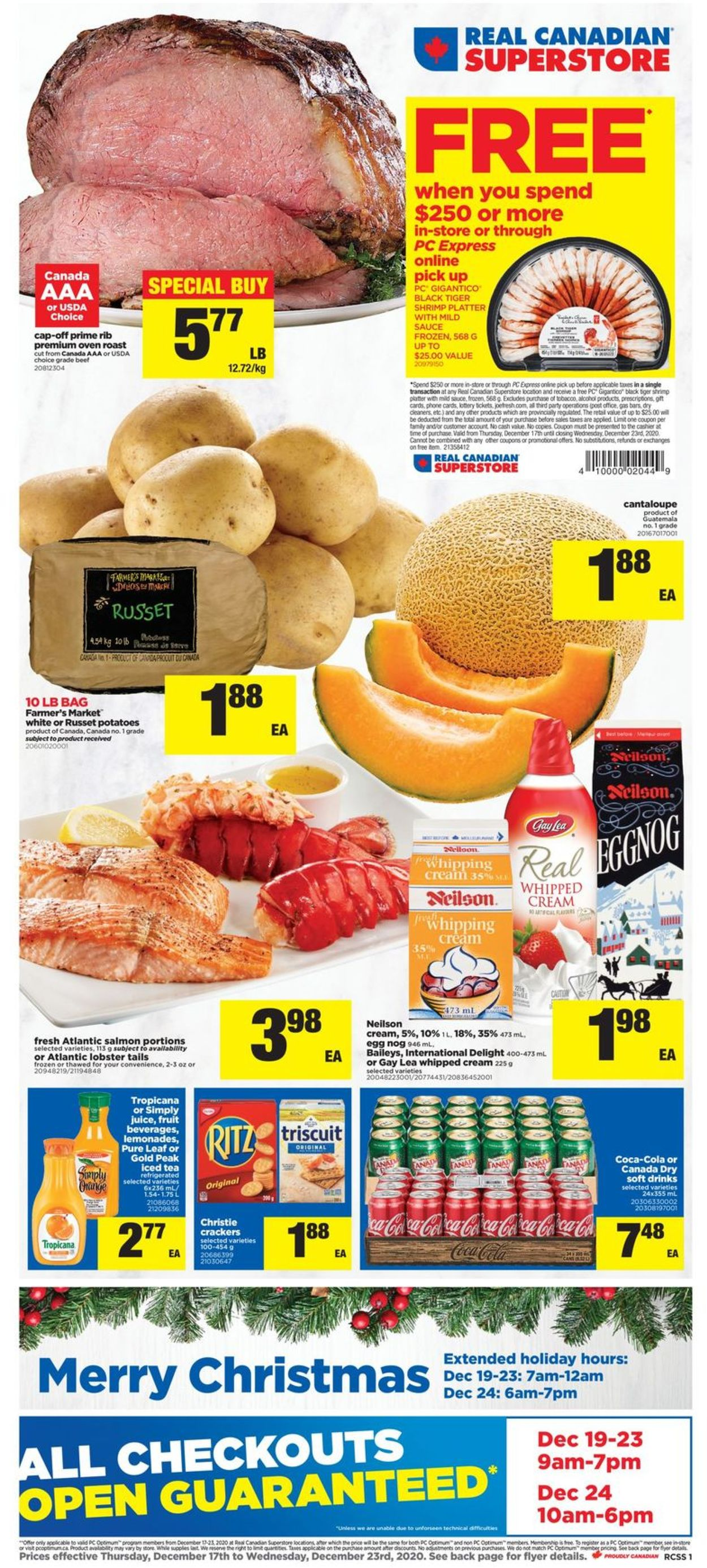 Real Canadian Superstore - Holiday 2020 Flyer - 12/17-12/23/2020