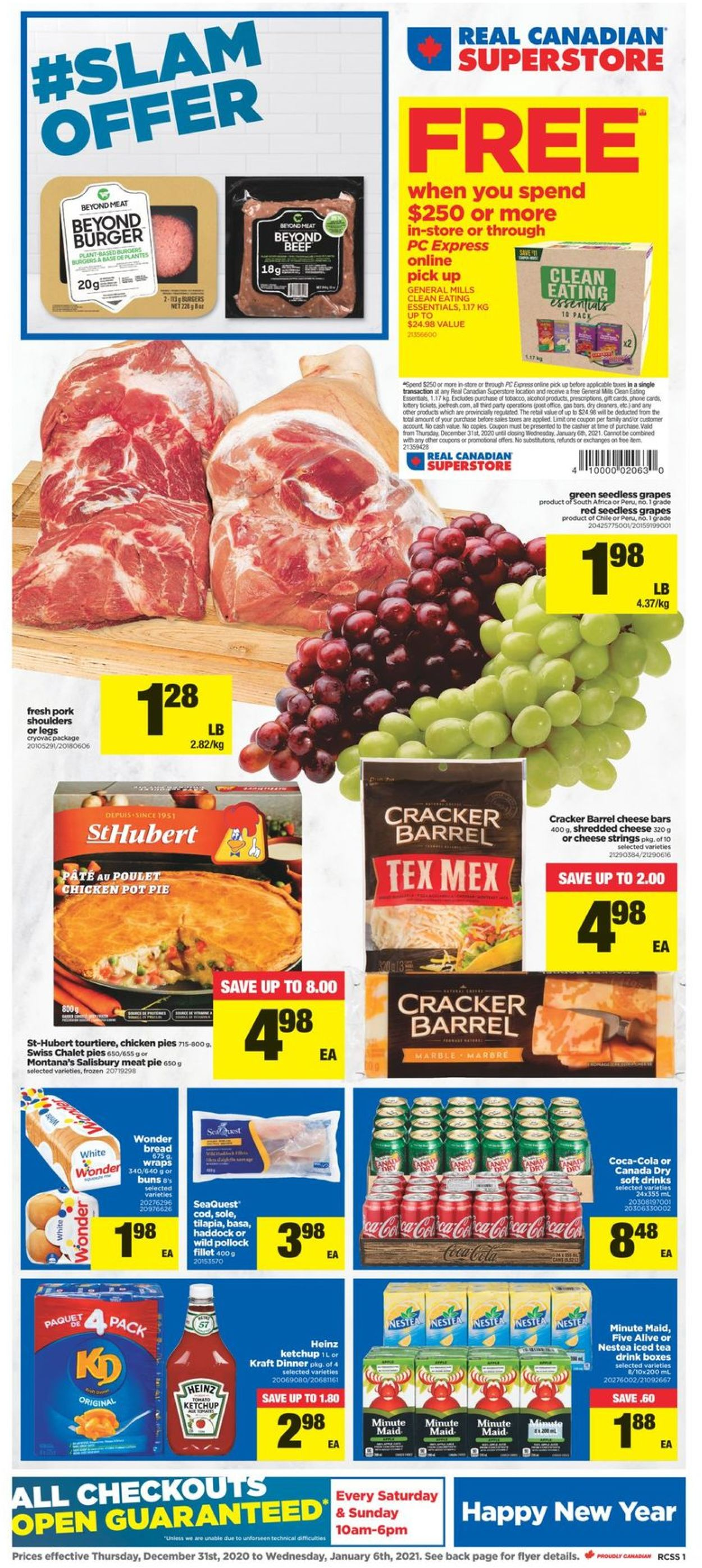 Real Canadian Superstore - New Year 2021 Flyer - 12/31-01/06/2021