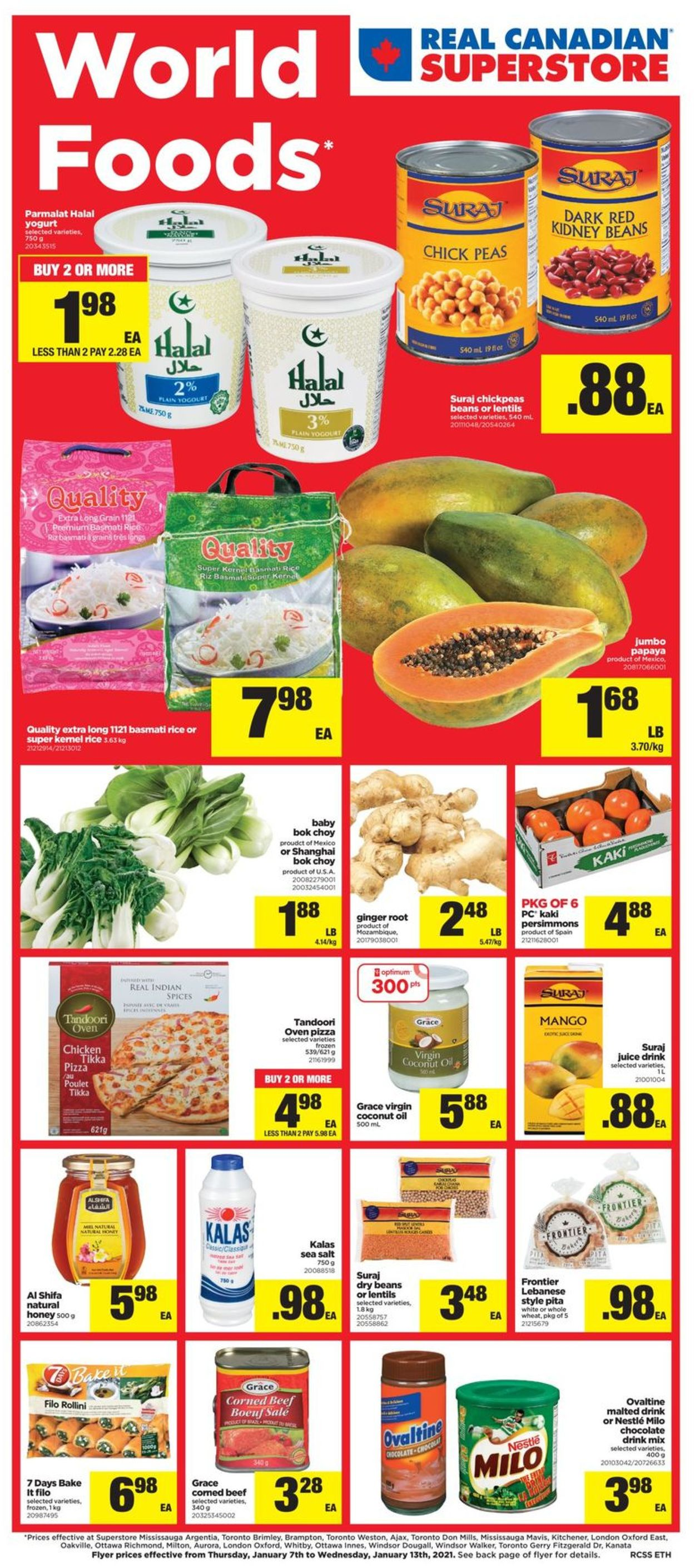 Real Canadian Superstore Flyer - 01/07-01/13/2021