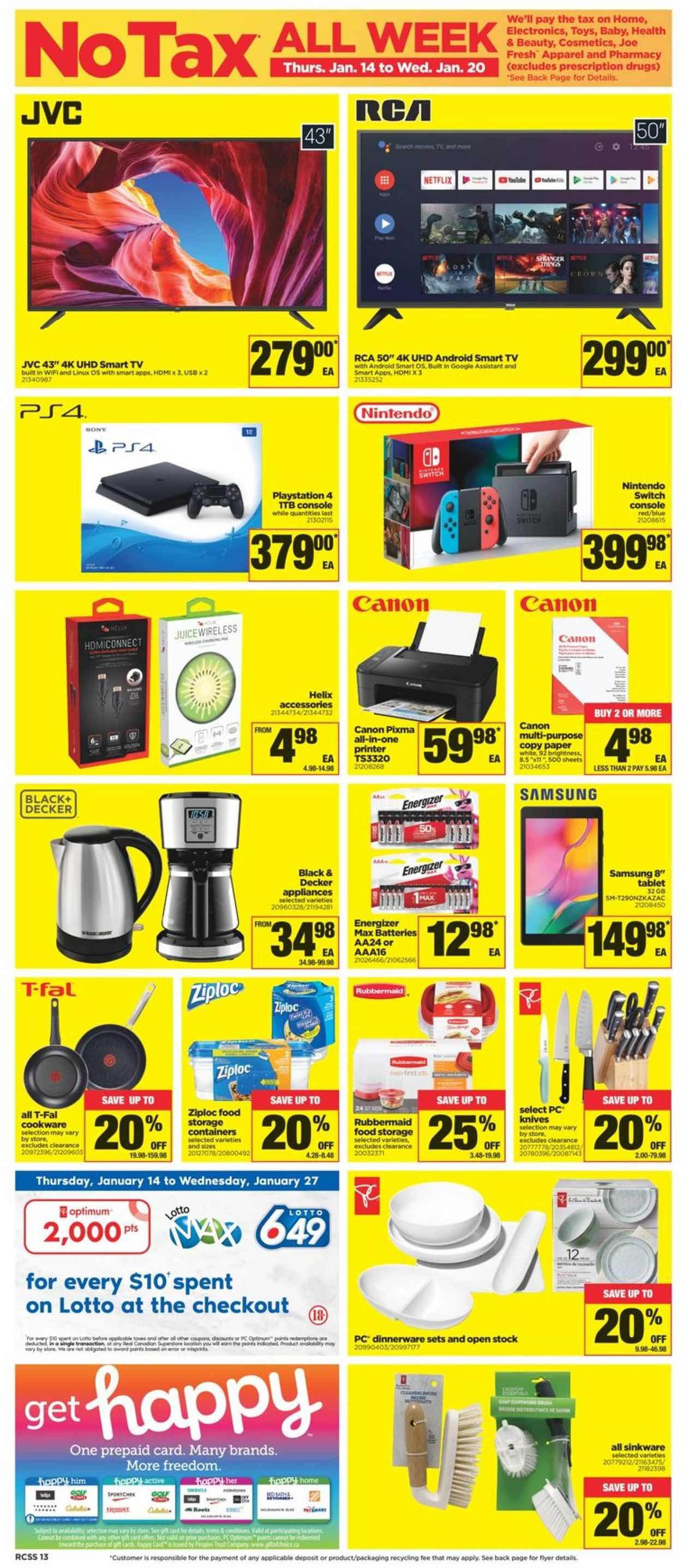 Real Canadian Superstore Flyer - 01/14-01/20/2021 (Page 13)