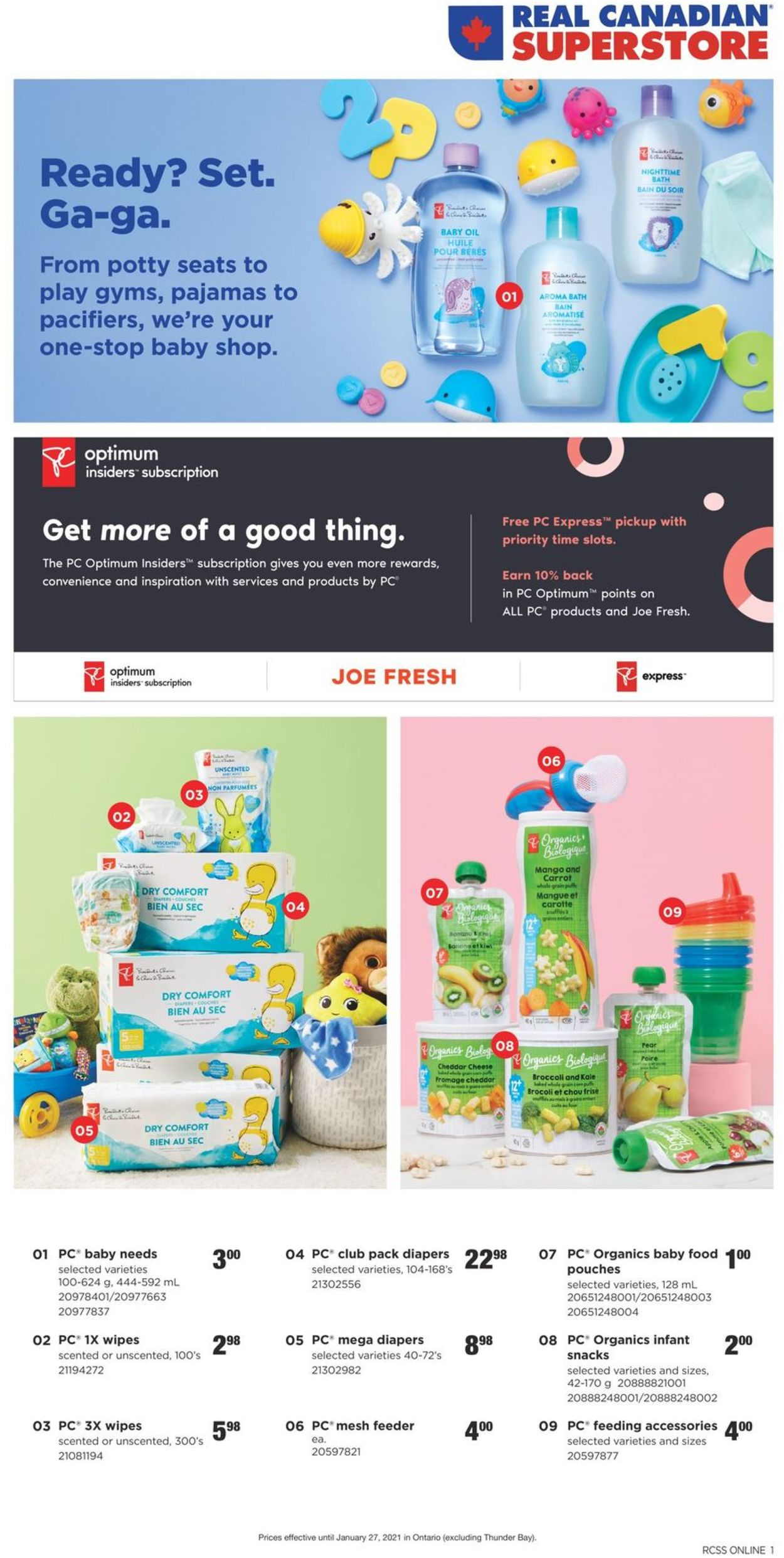 Real Canadian Superstore Flyer - 01/14-01/27/2021