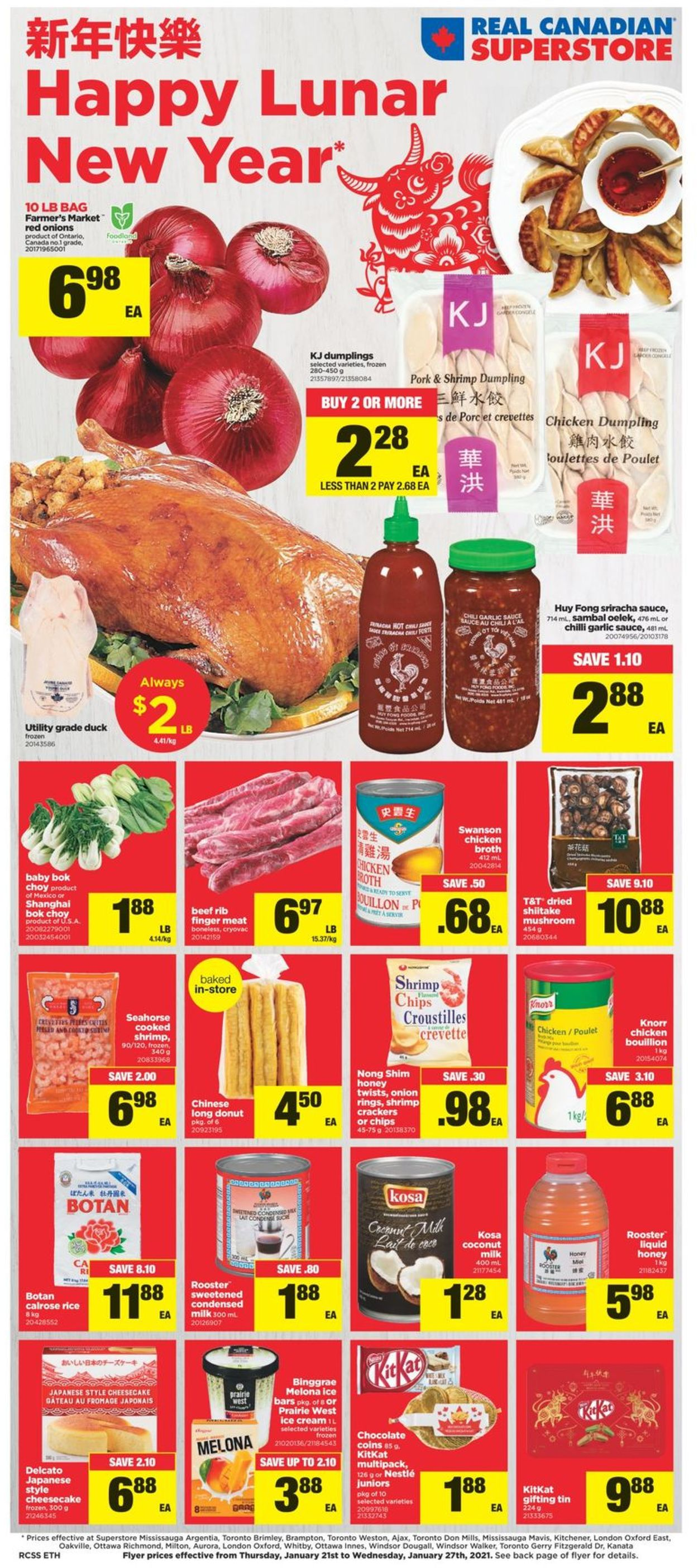 Real Canadian Superstore - Happy Lunar New Year 2021 Flyer - 01/21-01/27/2021