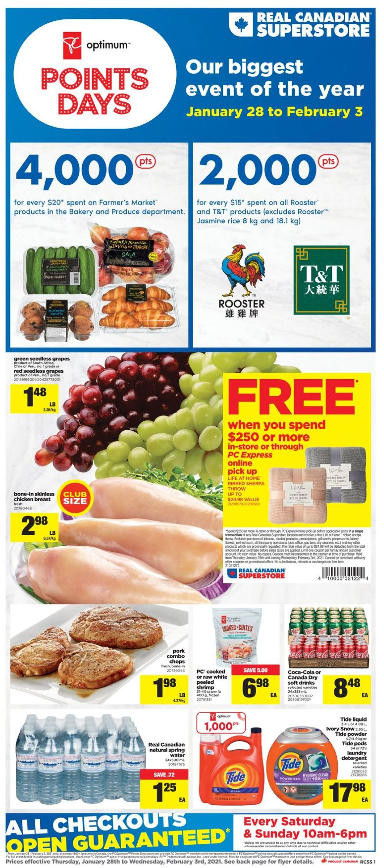 Real Canadian Superstore Flyer - 01/28-02/03/2021
