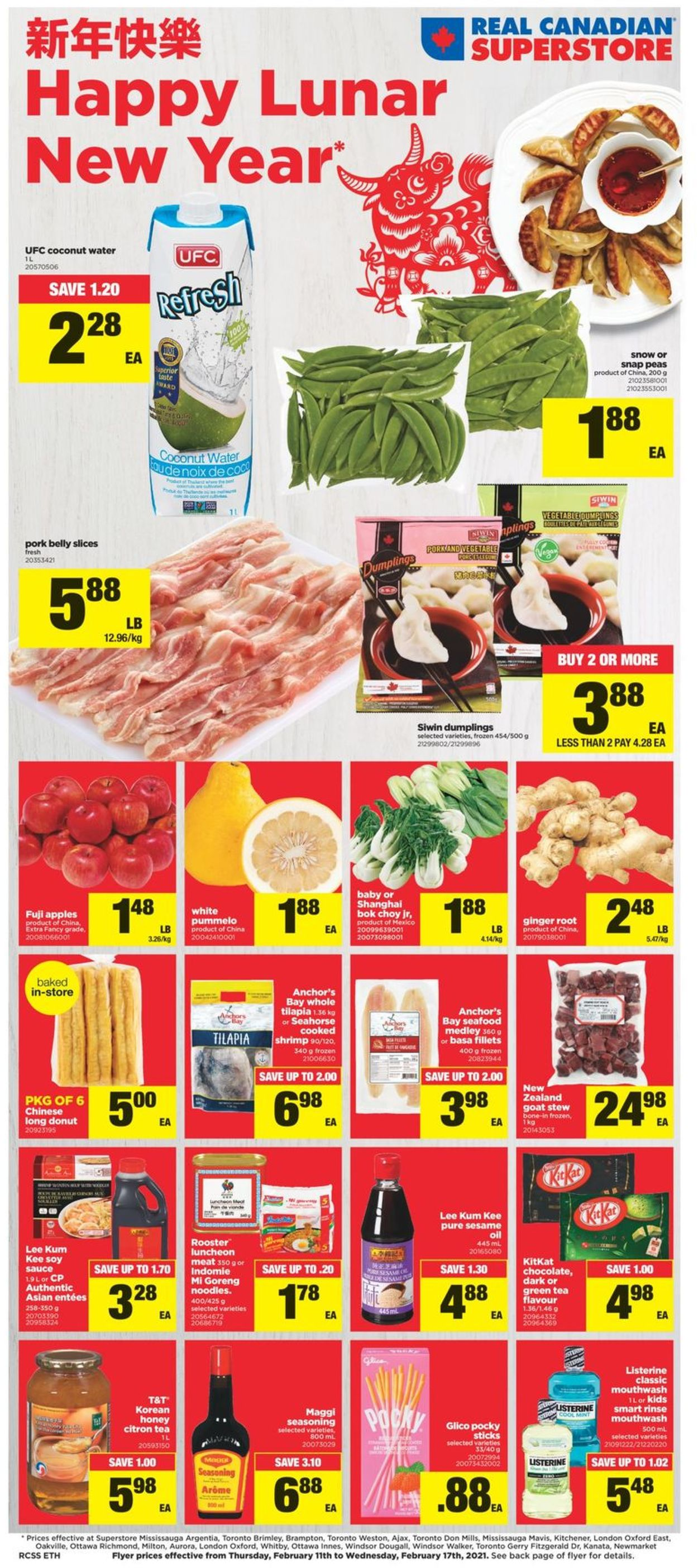 Real Canadian Superstore - Happy Lunar New Year 2021 Flyer - 02/11-02/17/2021