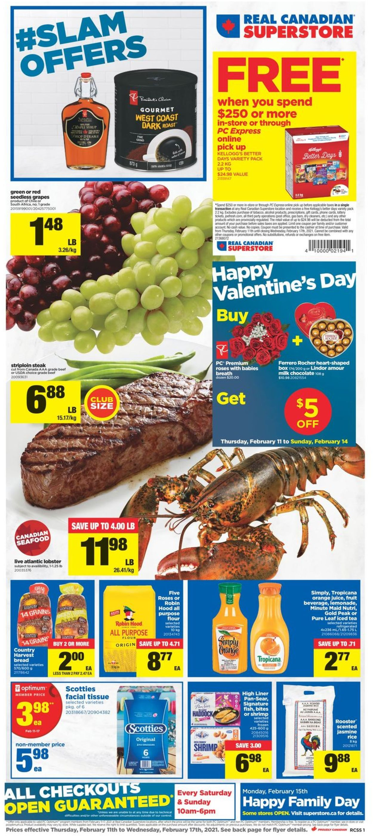 Real Canadian Superstore Flyer - 02/11-02/17/2021