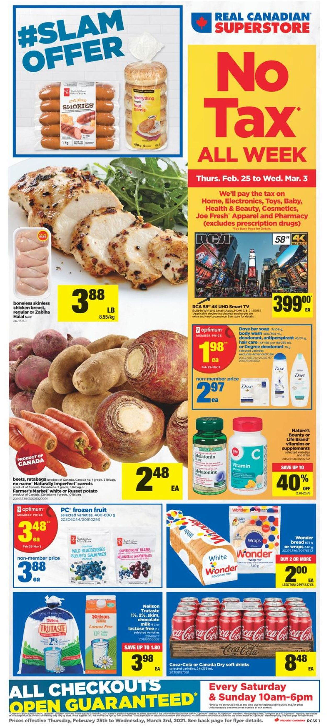 Real Canadian Superstore Flyer - 02/25-03/03/2021