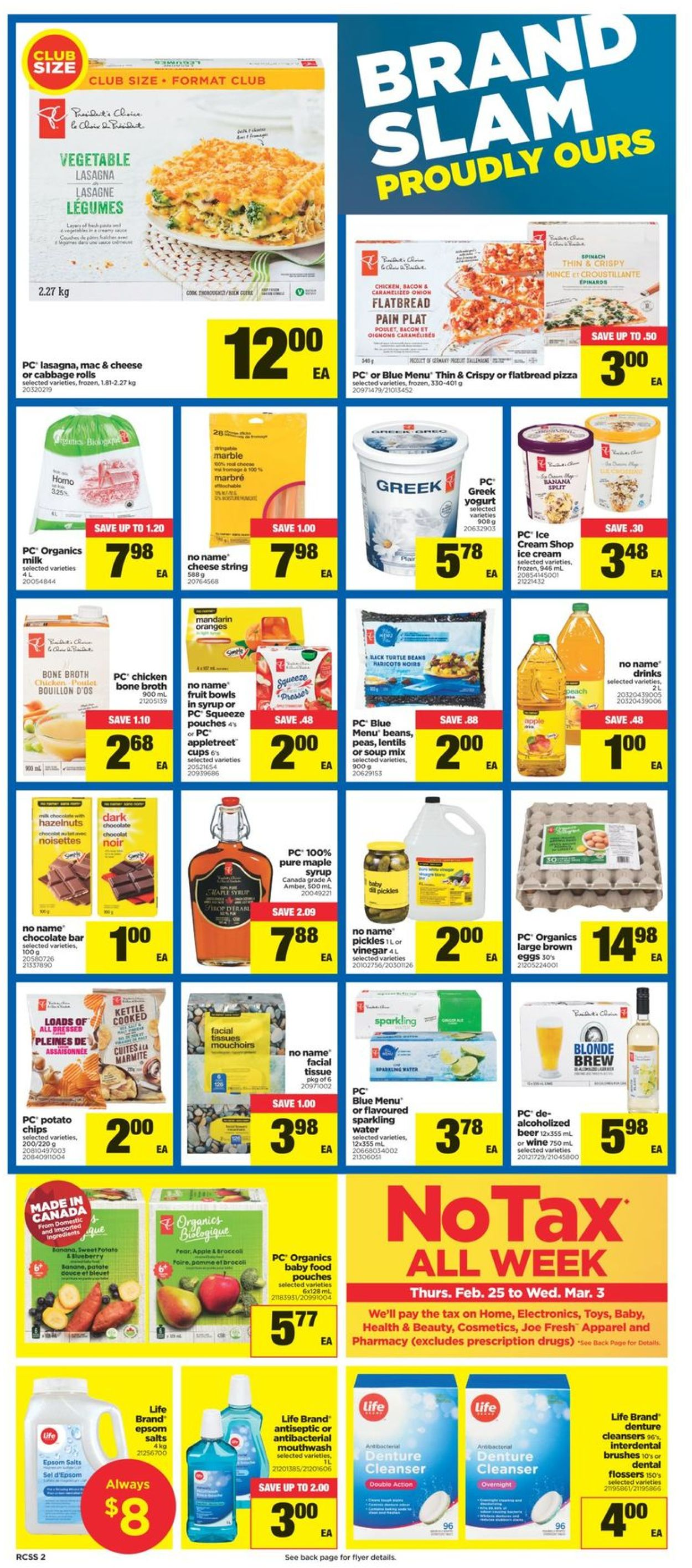 Real Canadian Superstore Flyer - 02/25-03/03/2021 (Page 2)
