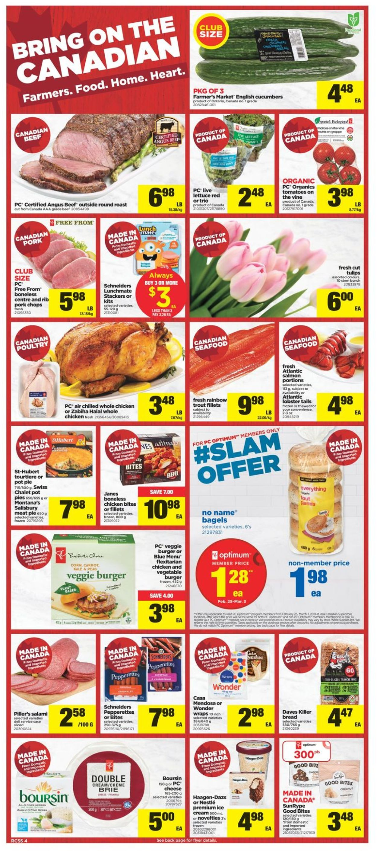 Real Canadian Superstore Flyer - 02/25-03/03/2021 (Page 4)