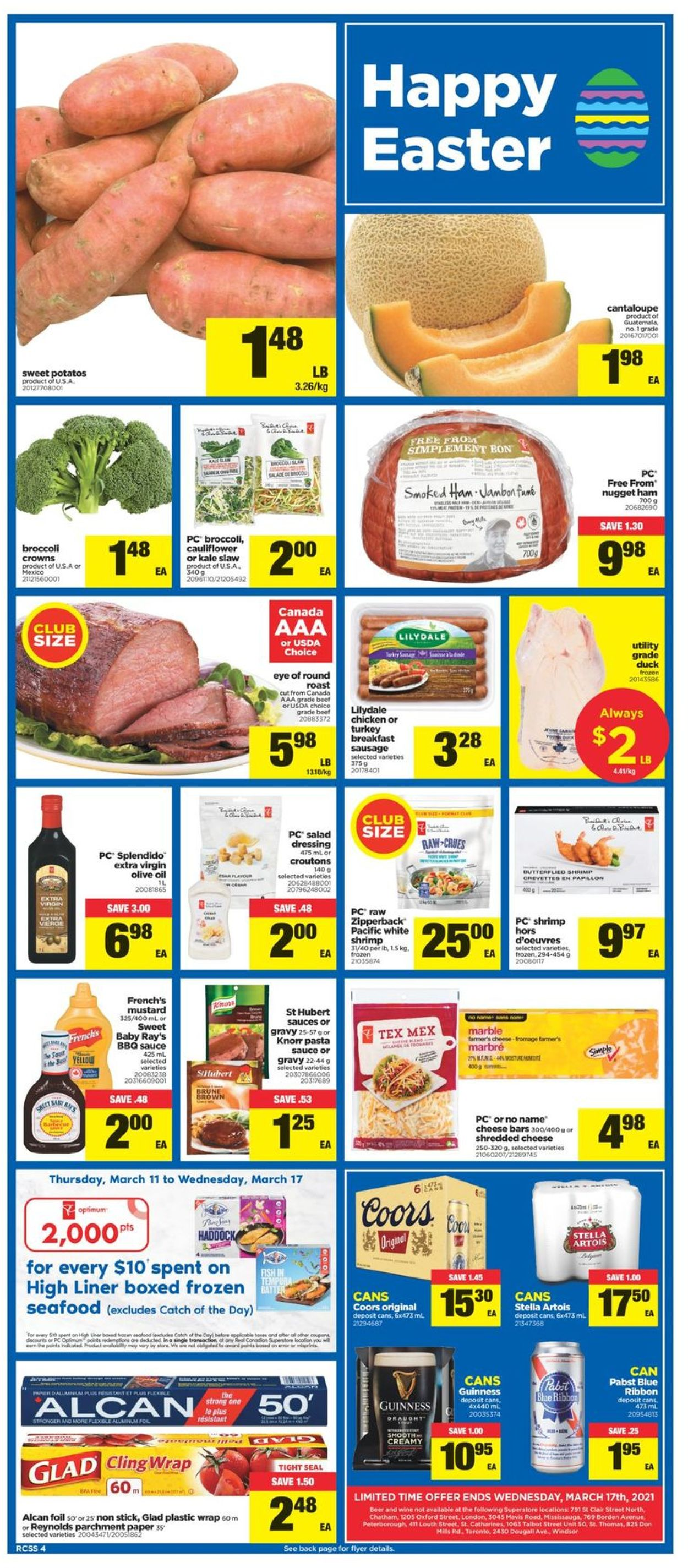Real Canadian Superstore Flyer - 03/11-03/17/2021 (Page 4)