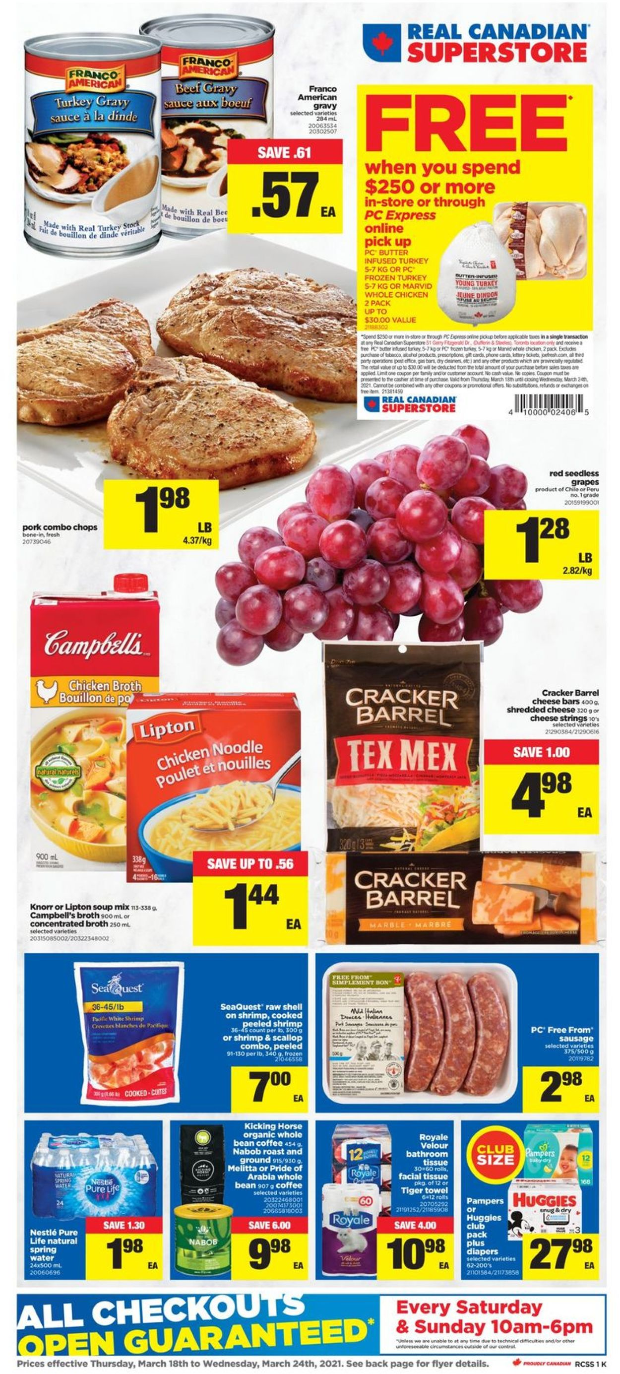Real Canadian Superstore Flyer - 03/18-03/24/2021