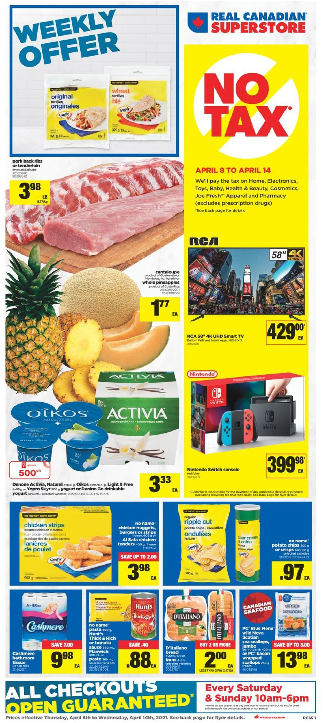 Real Canadian Superstore Flyer - 04/08-04/14/2021
