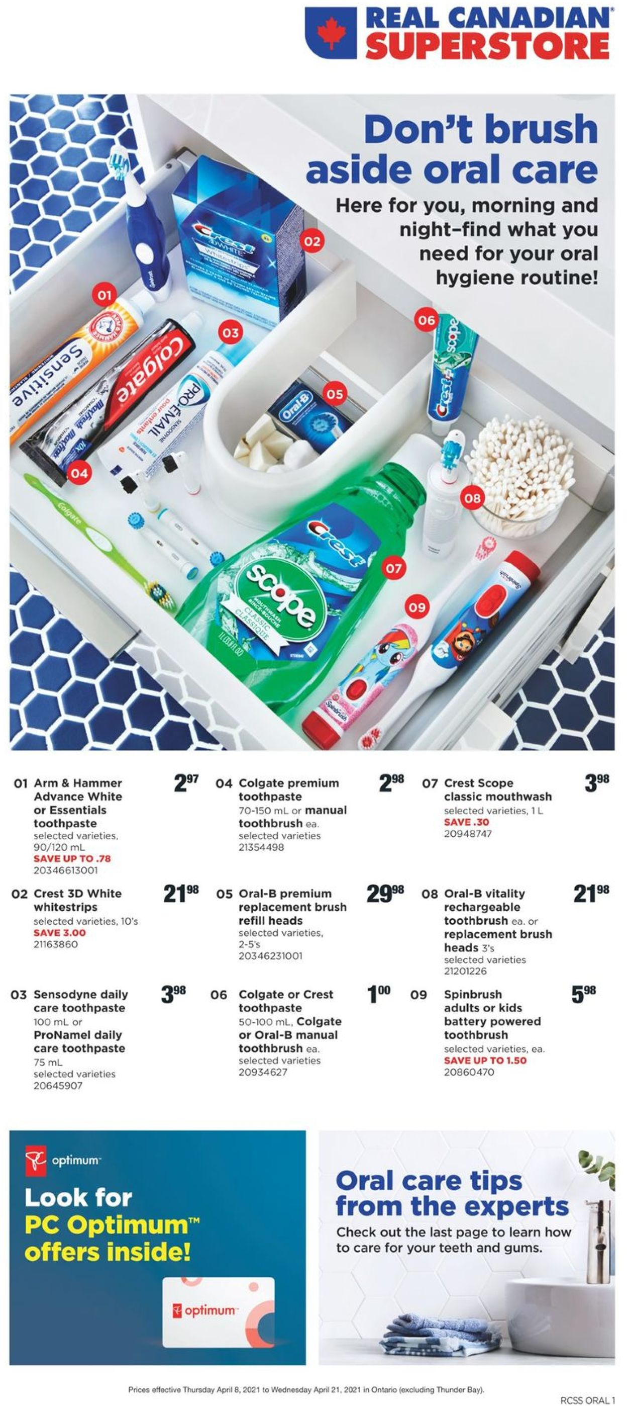Real Canadian Superstore Flyer - 04/08-04/21/2021