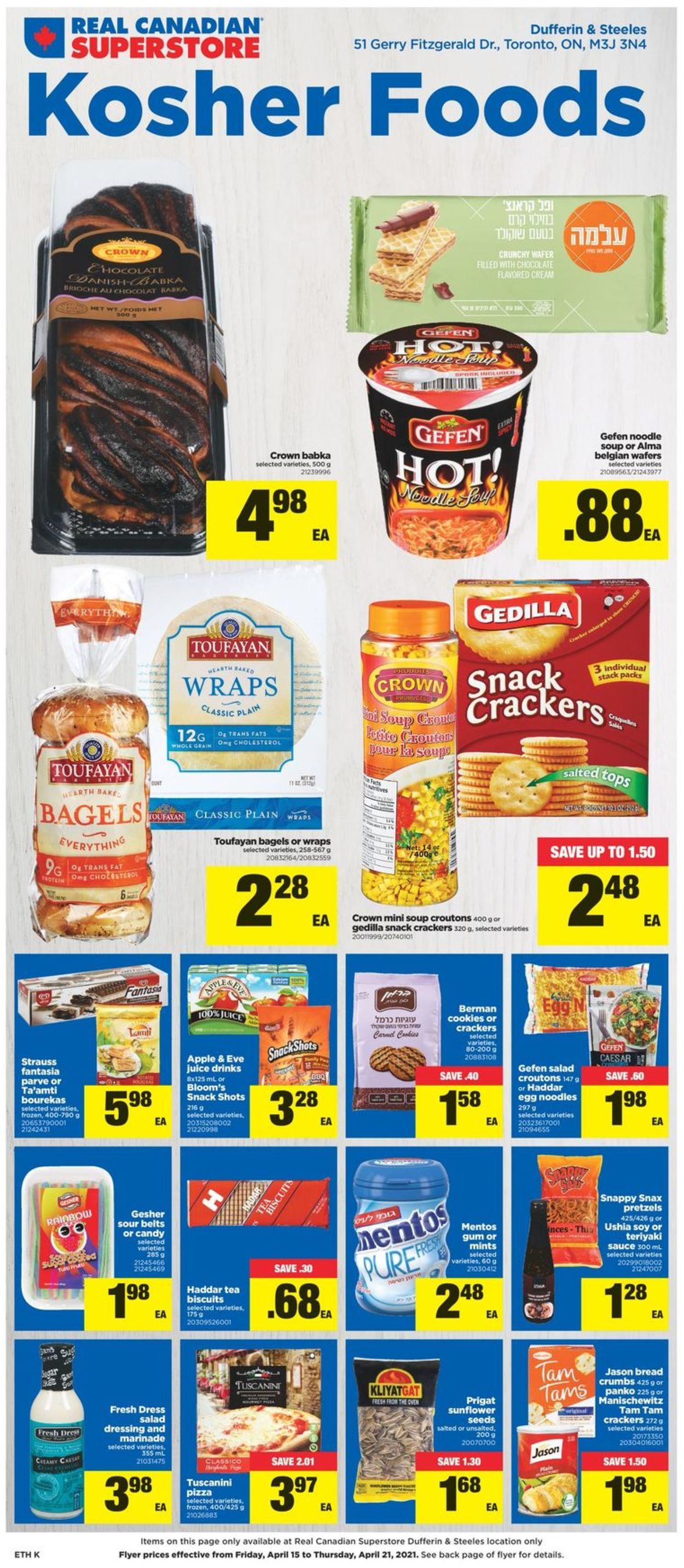 Real Canadian Superstore Flyer - 04/15-04/21/2021