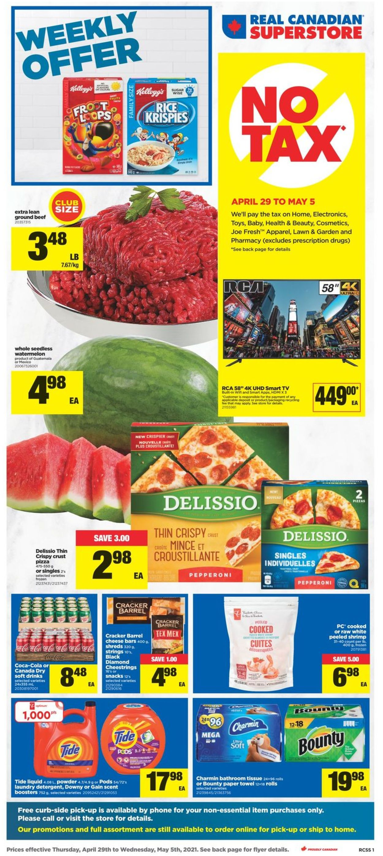 Real Canadian Superstore Flyer - 04/29-05/05/2021