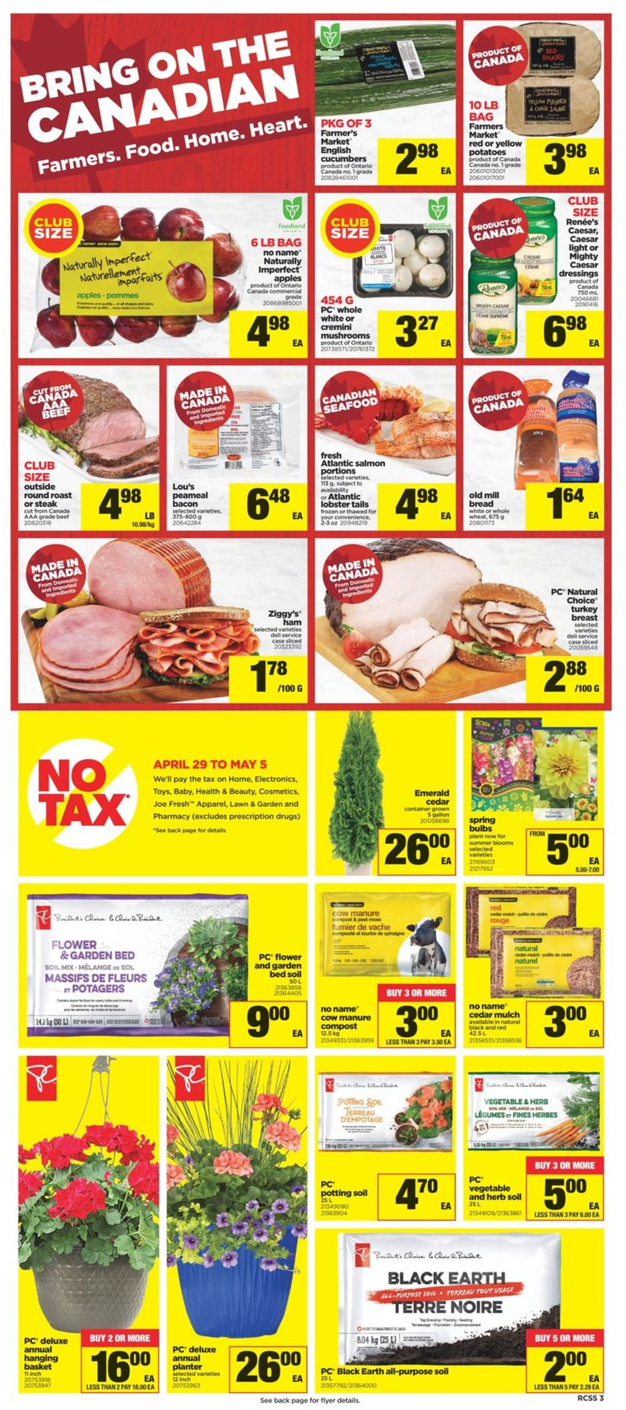 Real Canadian Superstore Flyer - 04/29-05/05/2021 (Page 4)