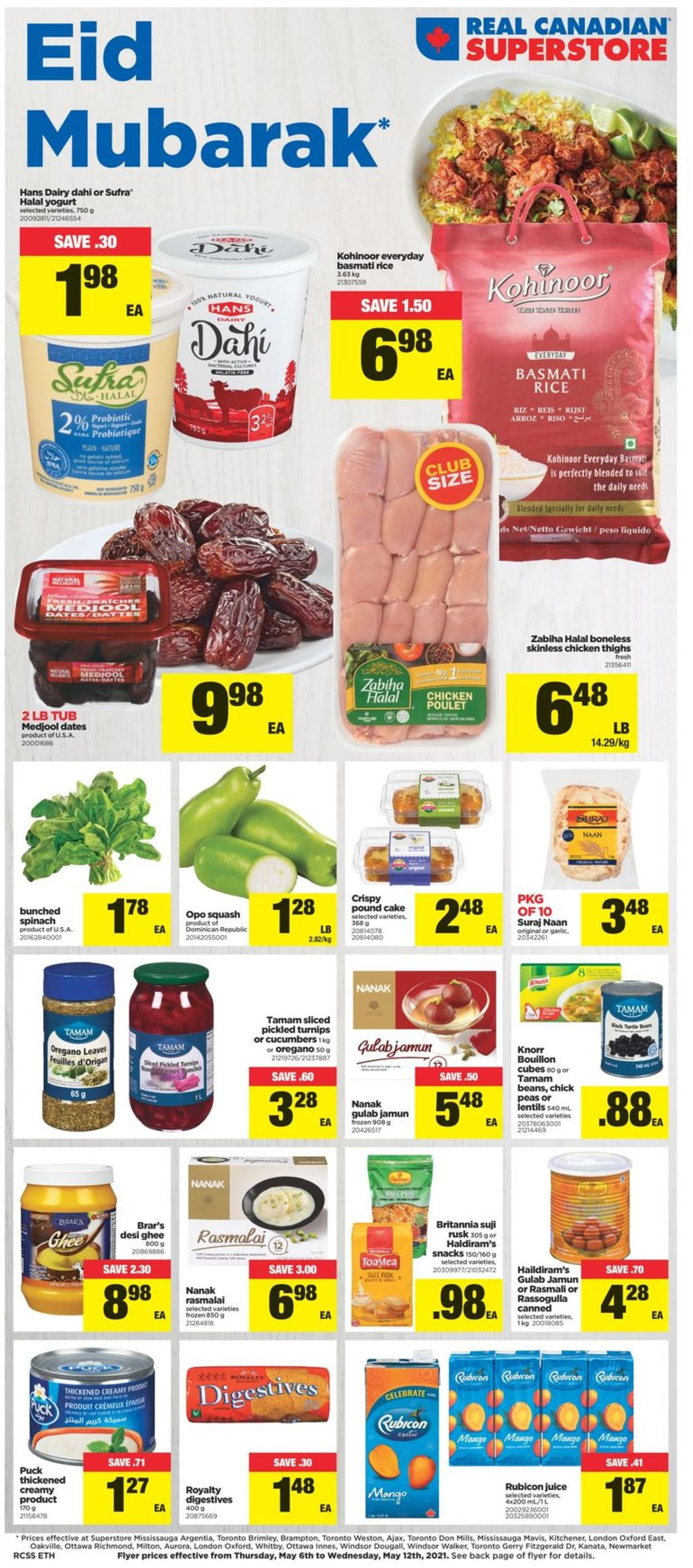 Real Canadian Superstore Flyer - 05/06-05/12/2021
