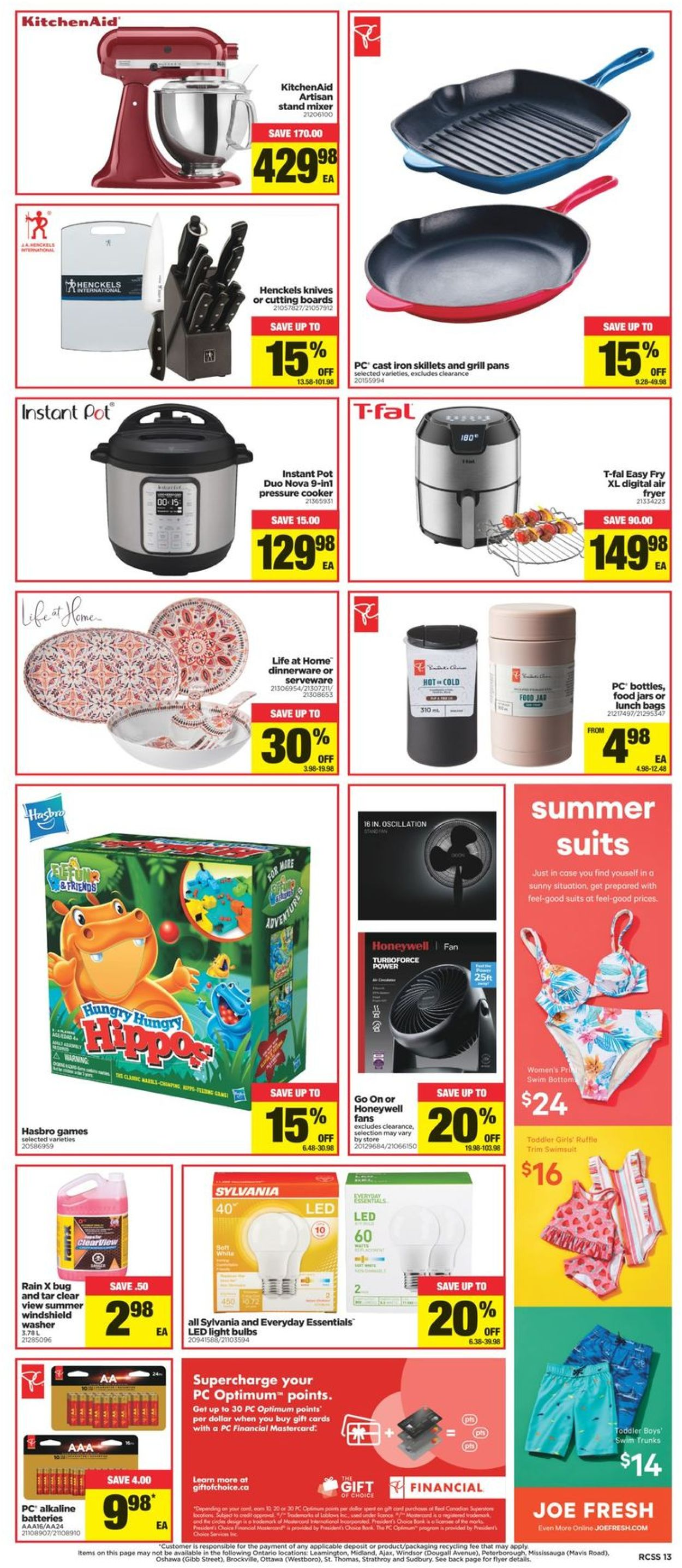 Real Canadian Superstore Flyer - 06/30-07/07/2021 (Page 13)