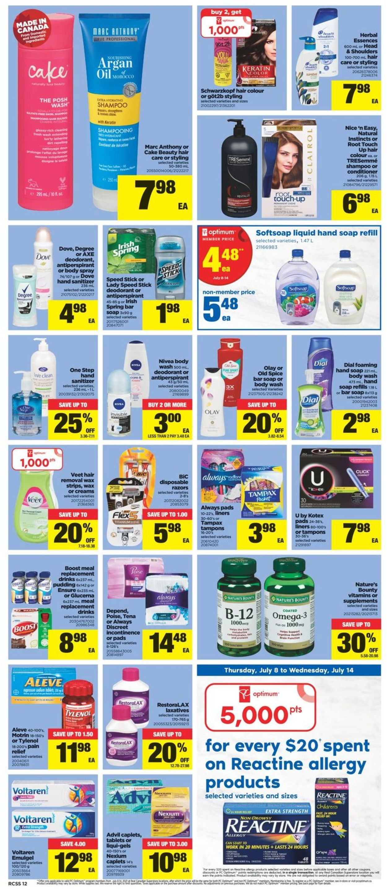 Real Canadian Superstore Flyer - 07/08-07/14/2021 (Page 12)