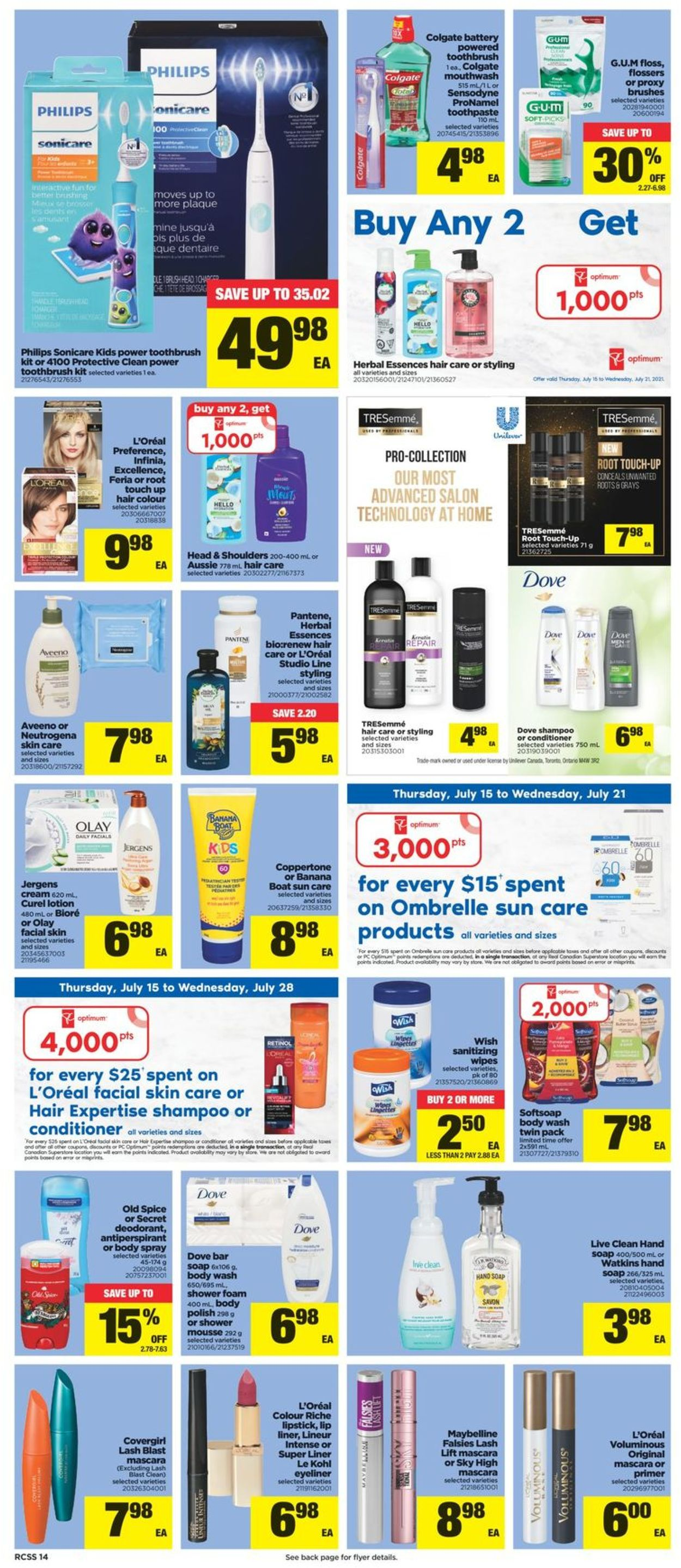 Real Canadian Superstore Flyer - 07/15-07/21/2021 (Page 14)