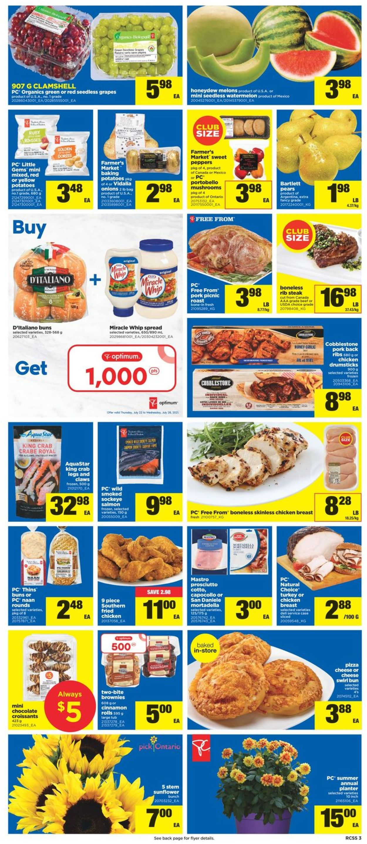 Real Canadian Superstore Flyer - 07/22-07/28/2021 (Page 3)