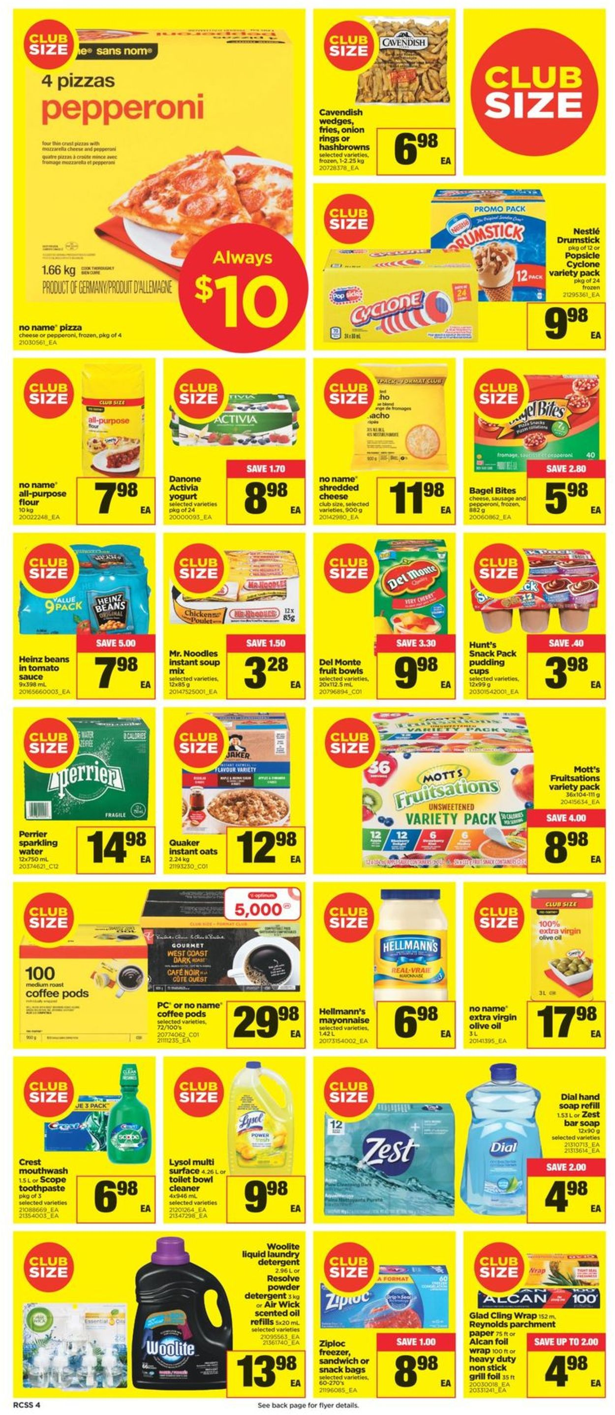 Real Canadian Superstore Flyer - 07/22-07/28/2021 (Page 4)