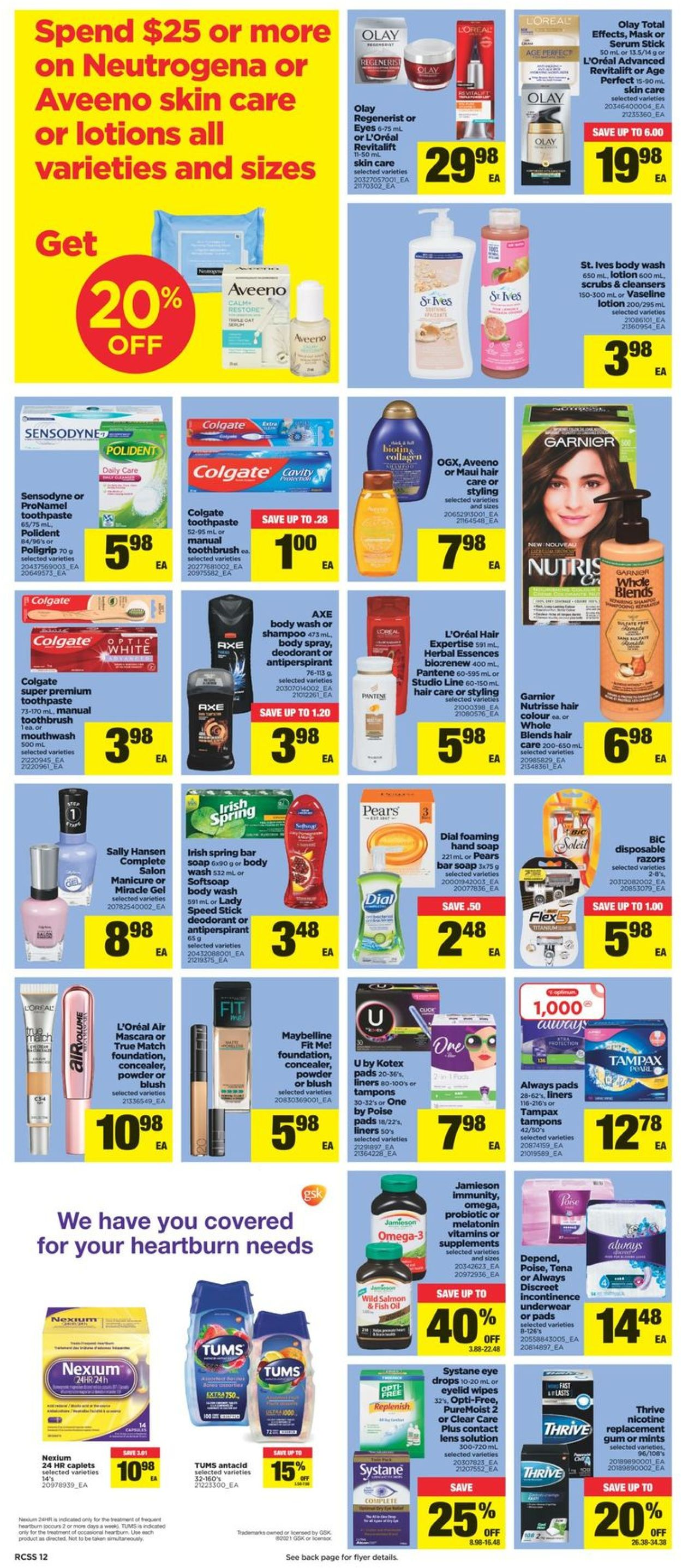 Real Canadian Superstore Flyer - 07/22-07/28/2021 (Page 12)