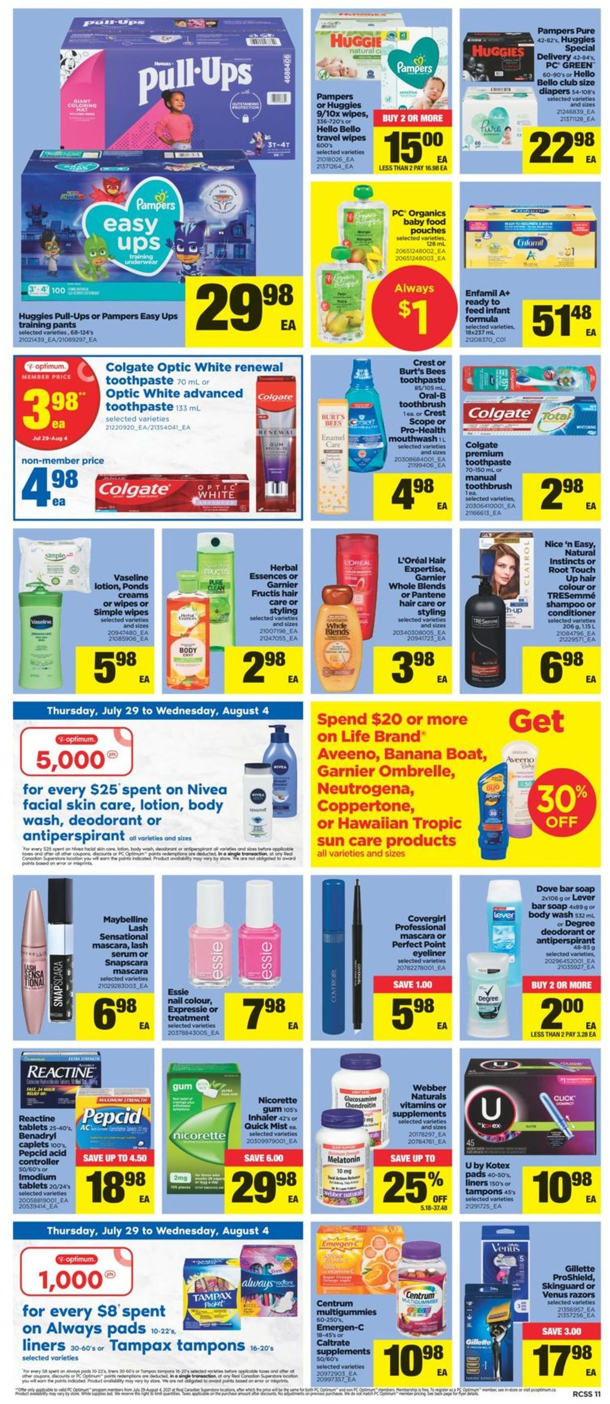 Real Canadian Superstore Flyer - 07/29-08/04/2021 (Page 11)