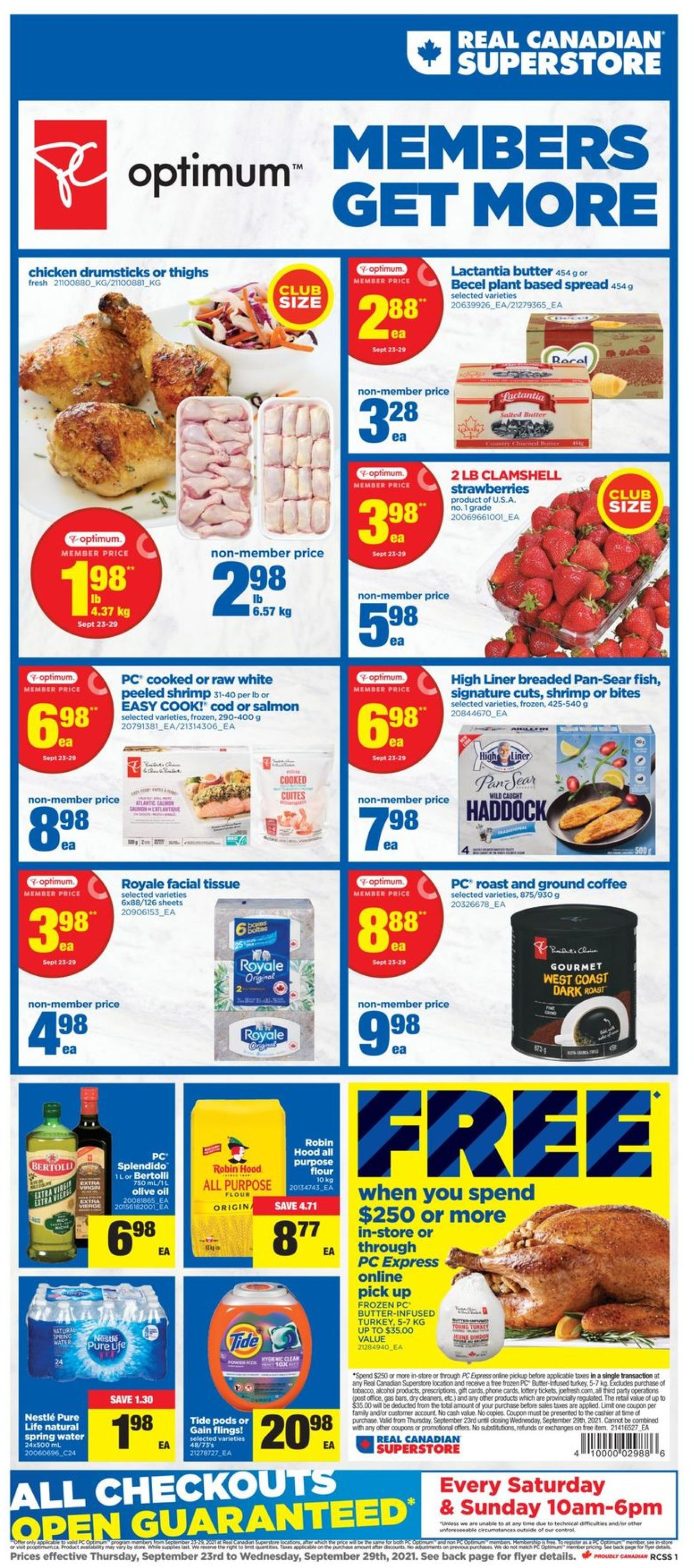 Real Canadian Superstore Flyer - 09/23-09/29/2021