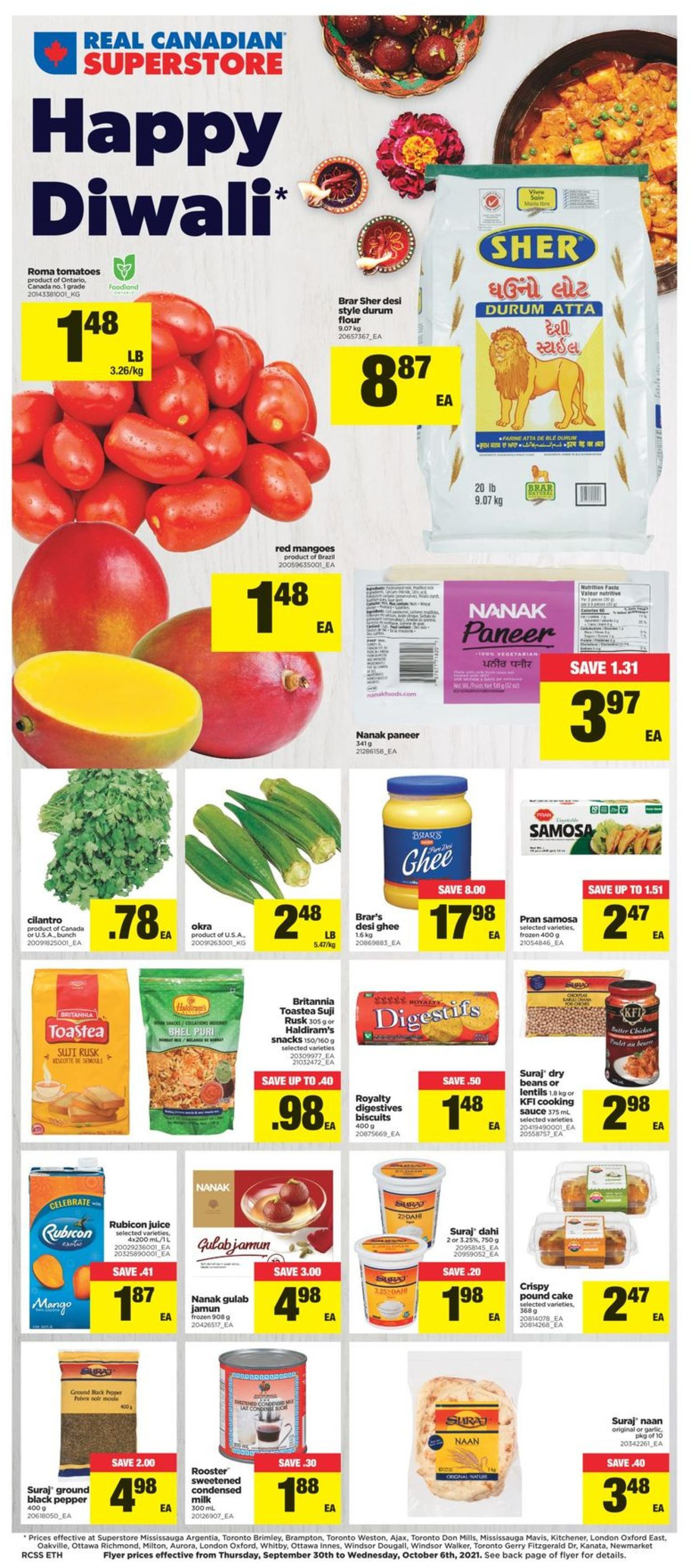 Real Canadian Superstore Flyer - 09/30-10/06/2021