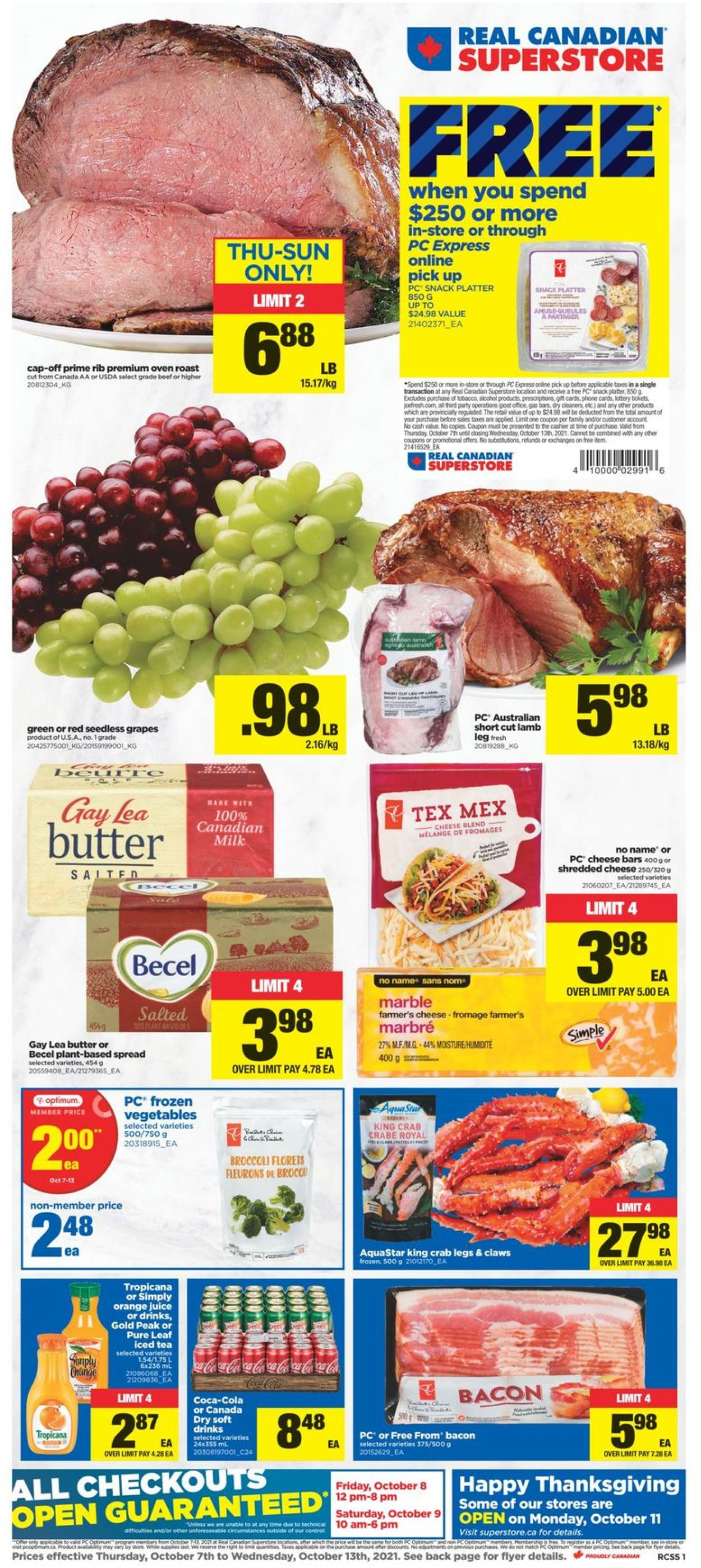 Real Canadian Superstore Flyer - 10/07-10/13/2021