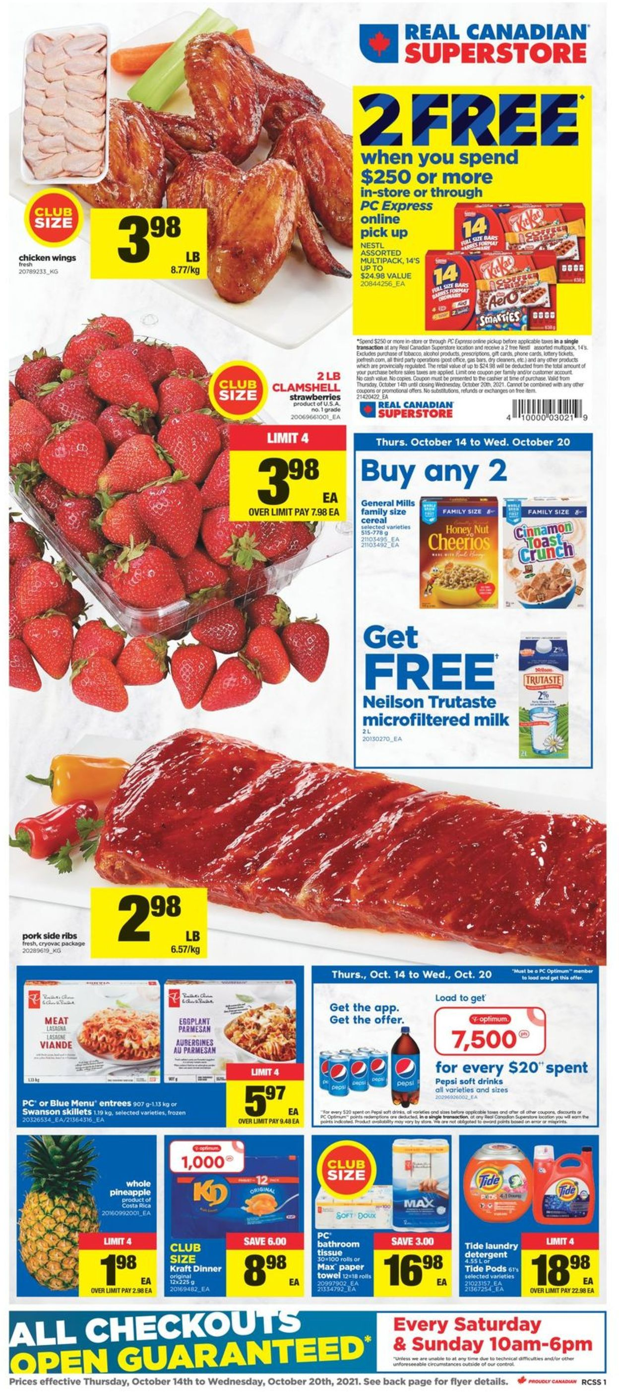 Real Canadian Superstore Flyer - 10/14-10/20/2021