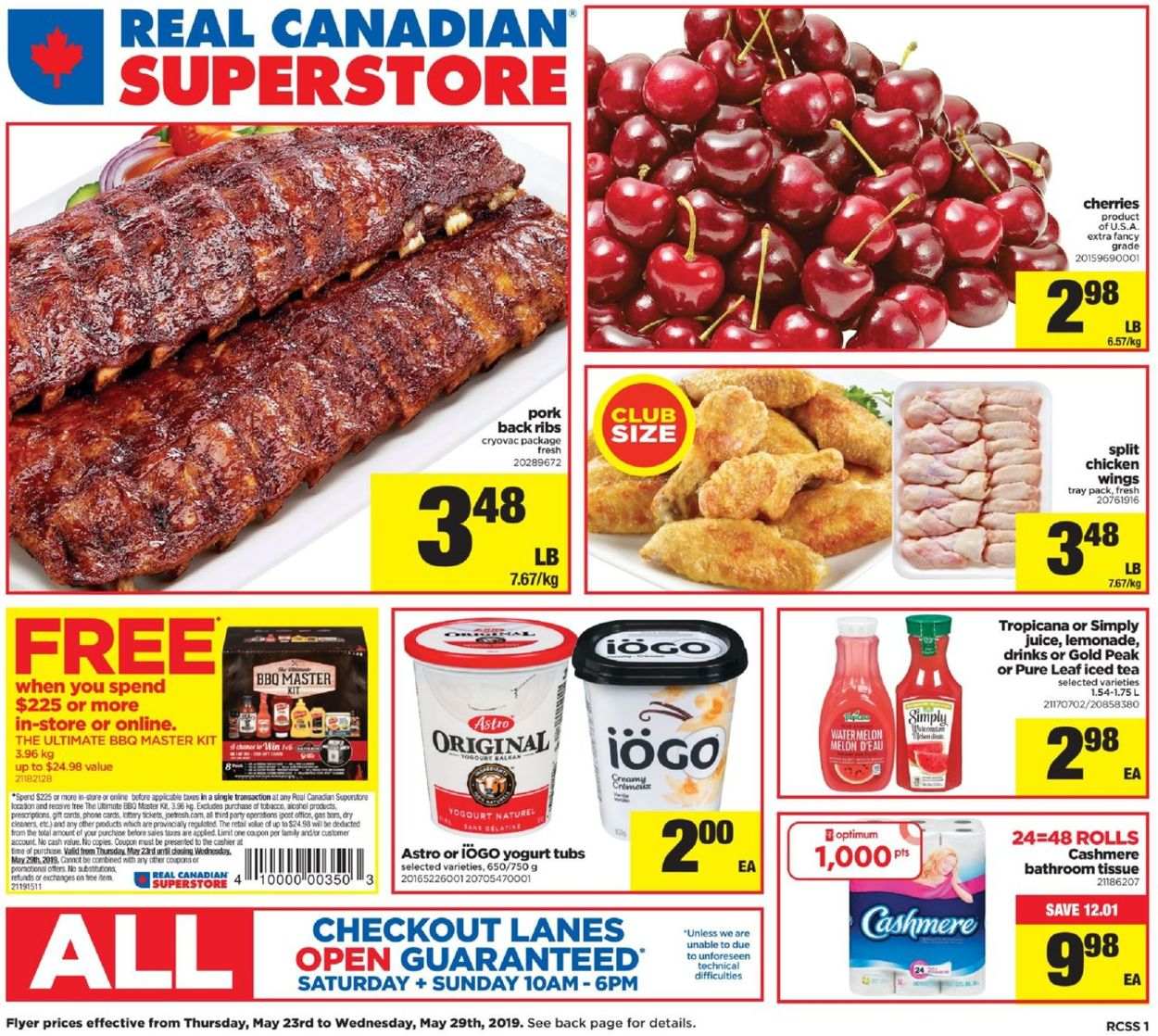 Real Canadian Superstore Flyer - 05/23-05/29/2019